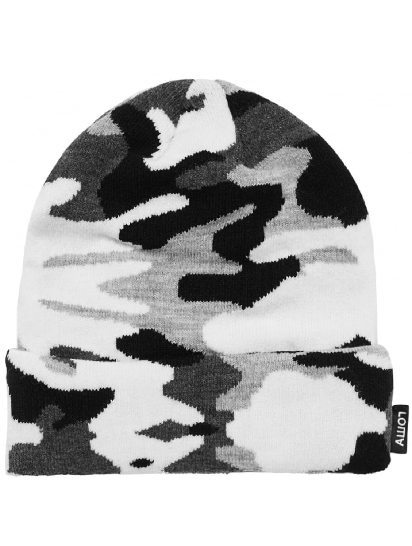 7374ff142a372 Gosha Rubchinskiy Camouflage Beanie Hat Black white in Black for Men ...