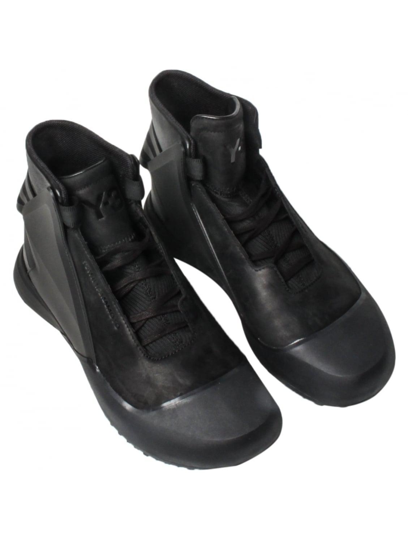 5410db3cb2999 Lyst - Y-3 Basketball Tech Sneakers Black in Black for Men