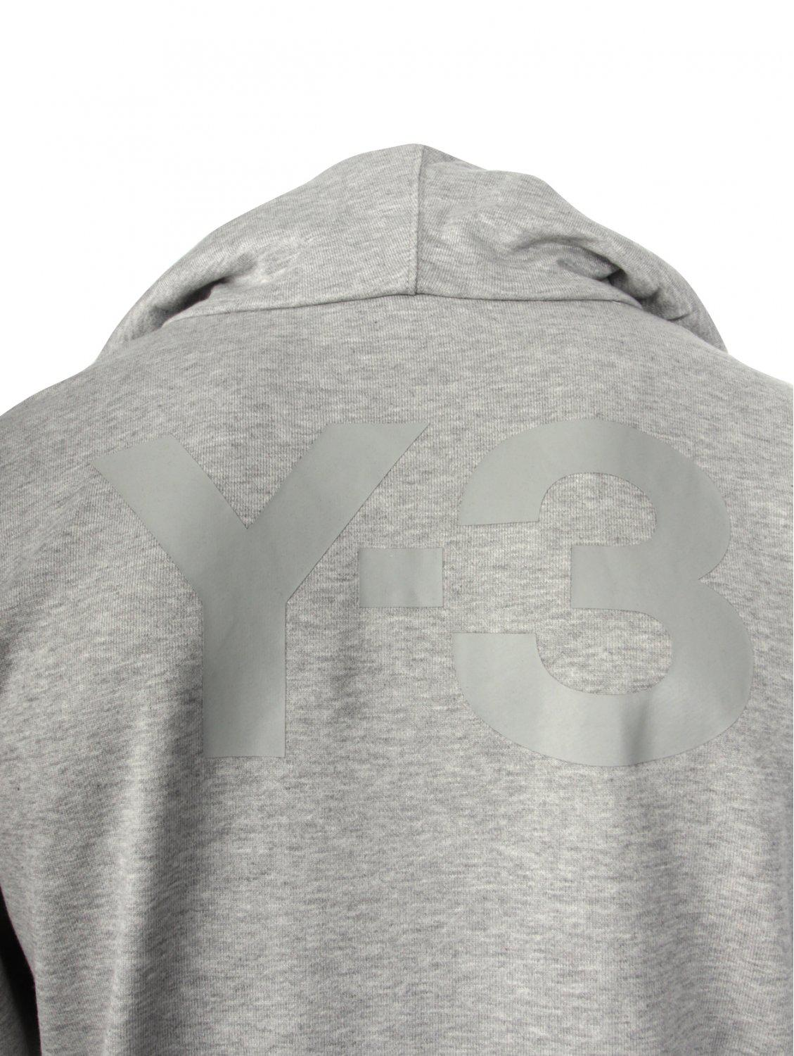 Y-3 Cotton Classic Hooded Track Jacket Grey in Grey for Men