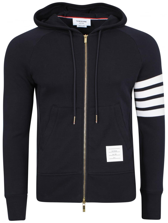 Navy zip up hoodie
