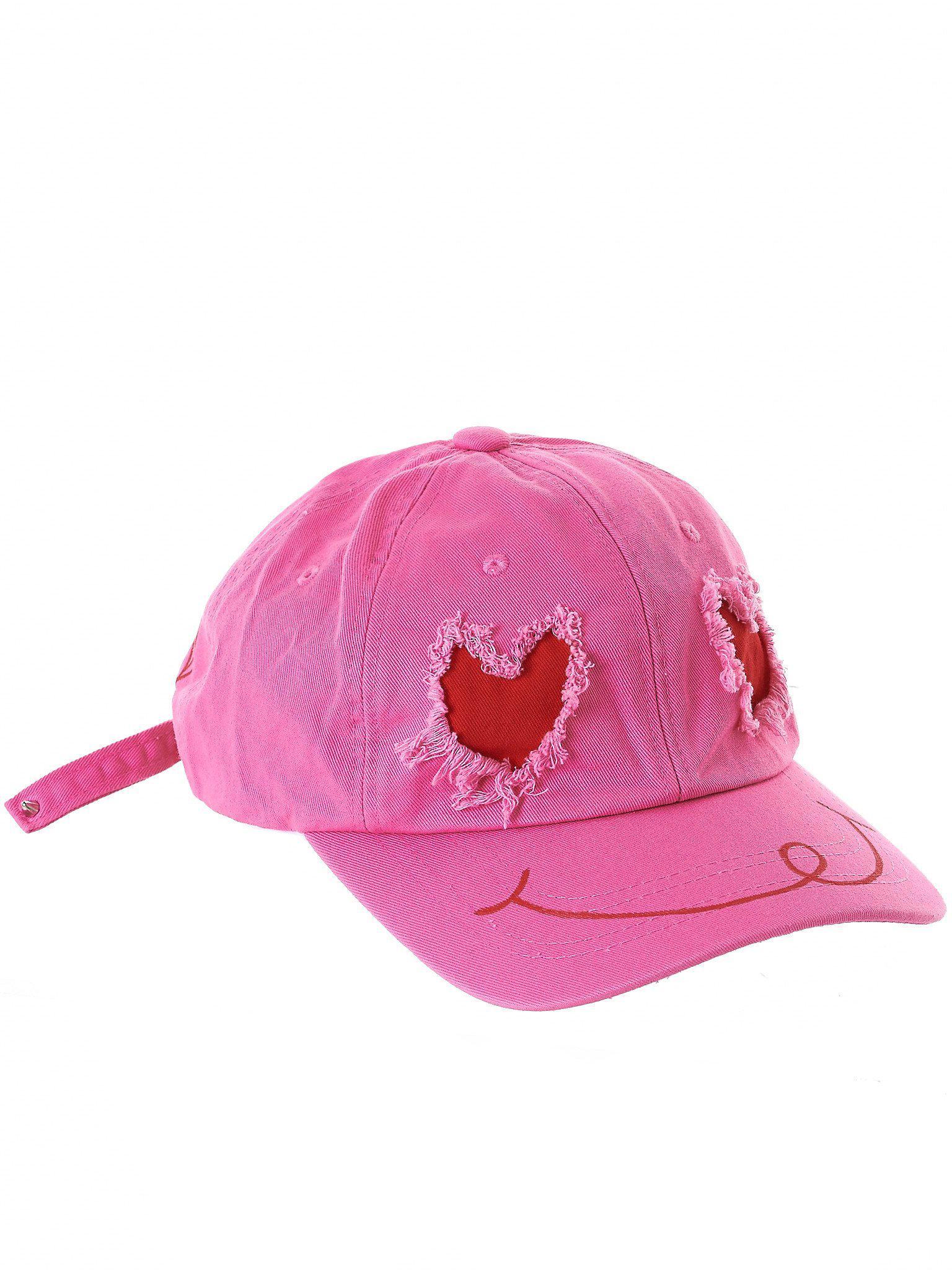13db3fa7dd5de4 99% Is Distressed Baseball Cap in Pink - Lyst