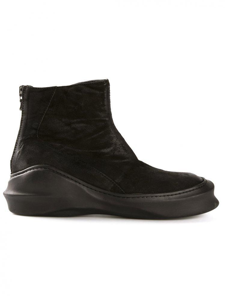 Lyst Julius Back Zip Goat Skin Boot For Men