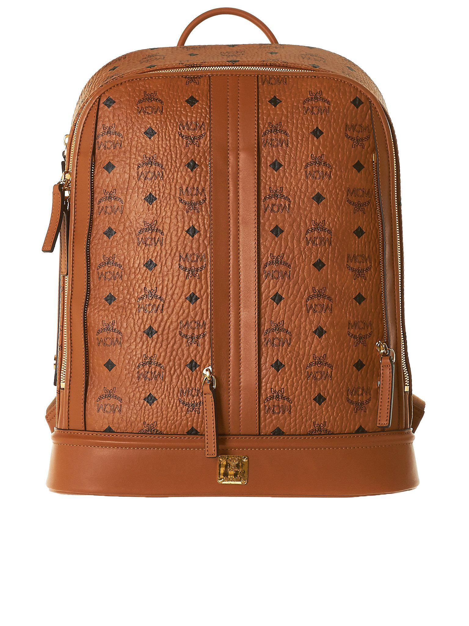 4fc274a0dab Lyst - Christopher Raeburn Mcm X Leather Backpack in Brown