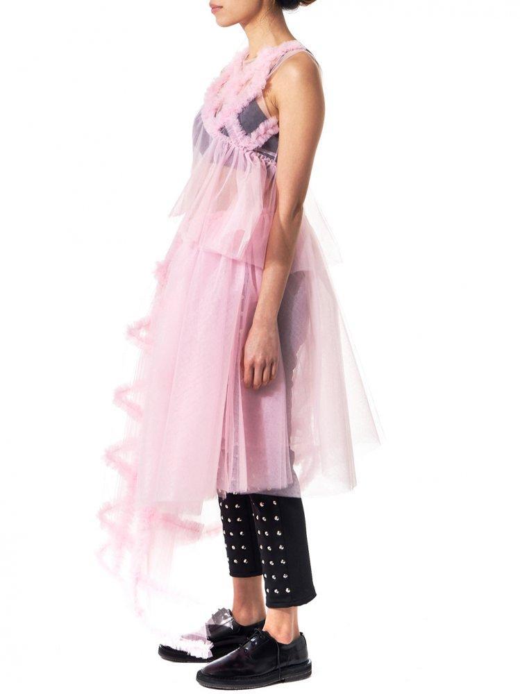 Lyst Shushu Tong Asymmetric Tutu Dress In Pink