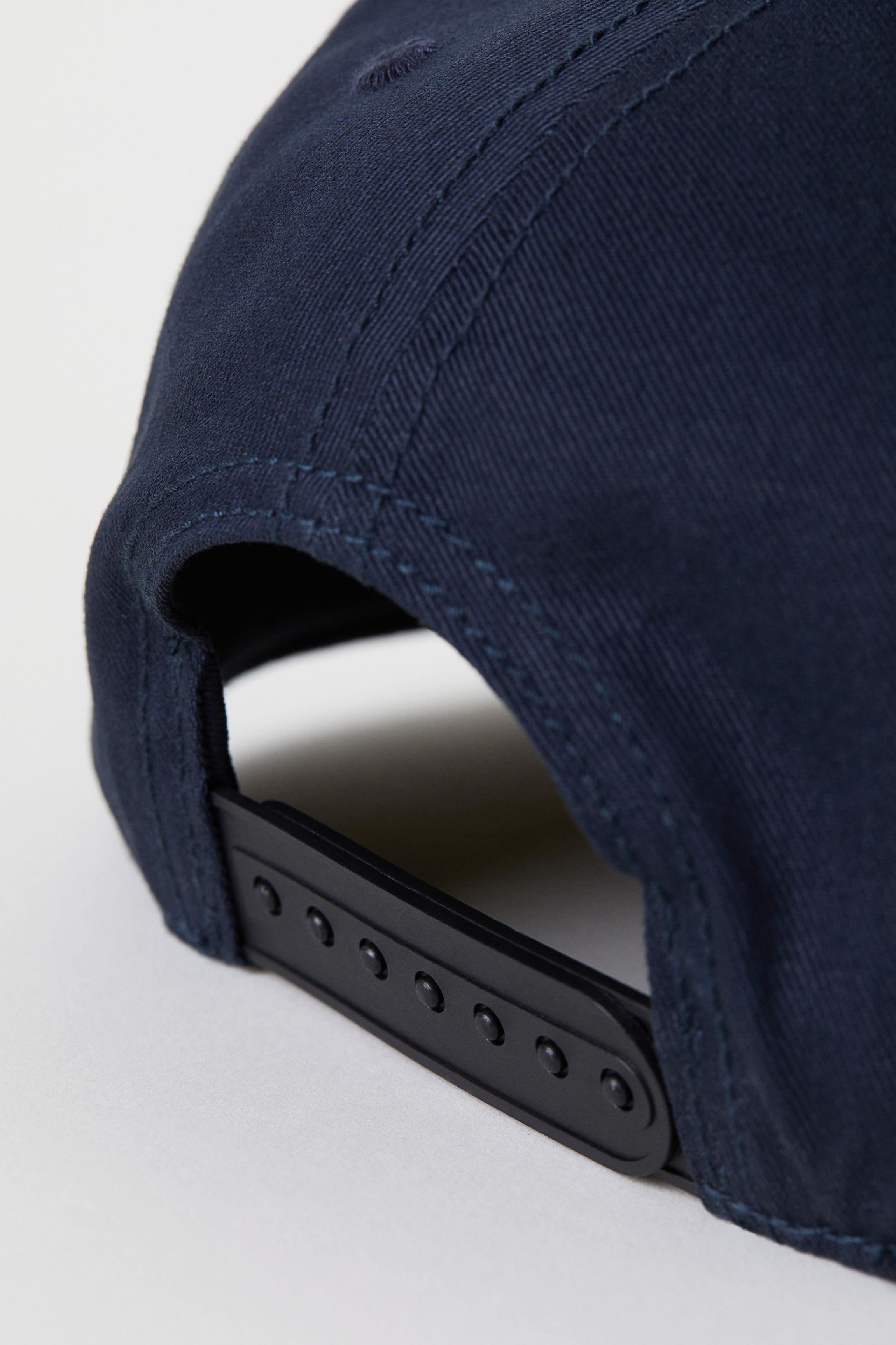 fa6f8055c21 Lyst - H M Cap With Appliqué in Blue for Men