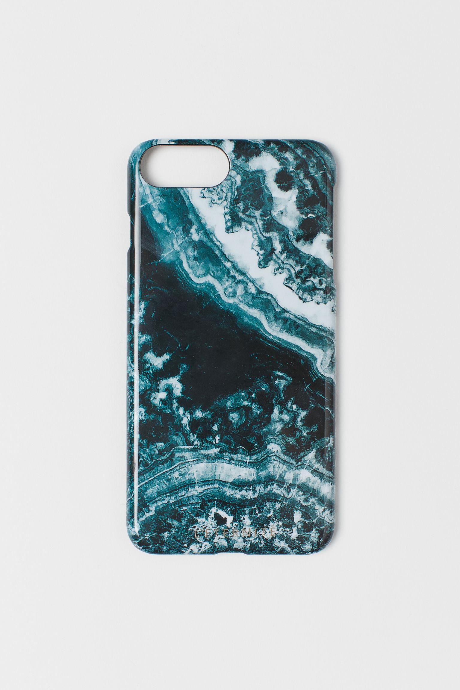 hm silver Coque pour iPhone 6 a 8