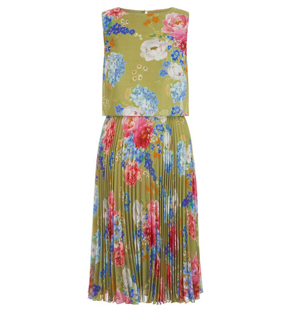 exquisite design fresh styles new lifestyle Hobbs Tabitha Dress in Green - Lyst