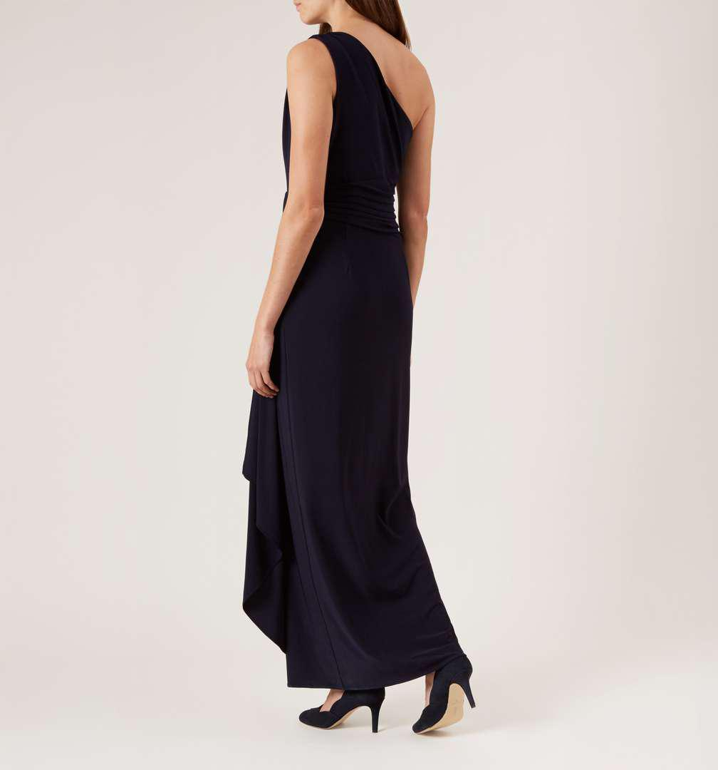 Hobbs Synthetic Neve Maxi Dress in Navy (Blue)