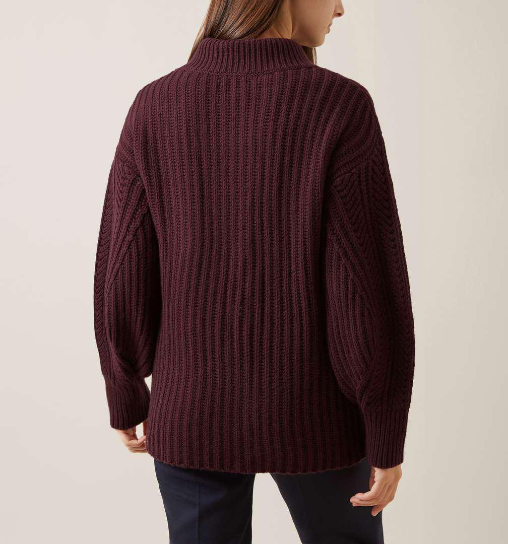 Hobbs Wool Adaline Sweater in Purple
