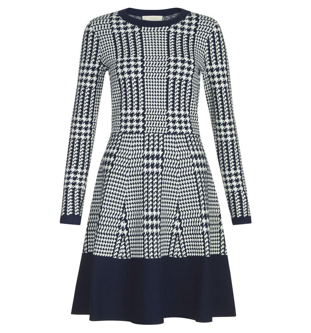 0397099d315 Hobbs Callie Dress in Blue - Lyst