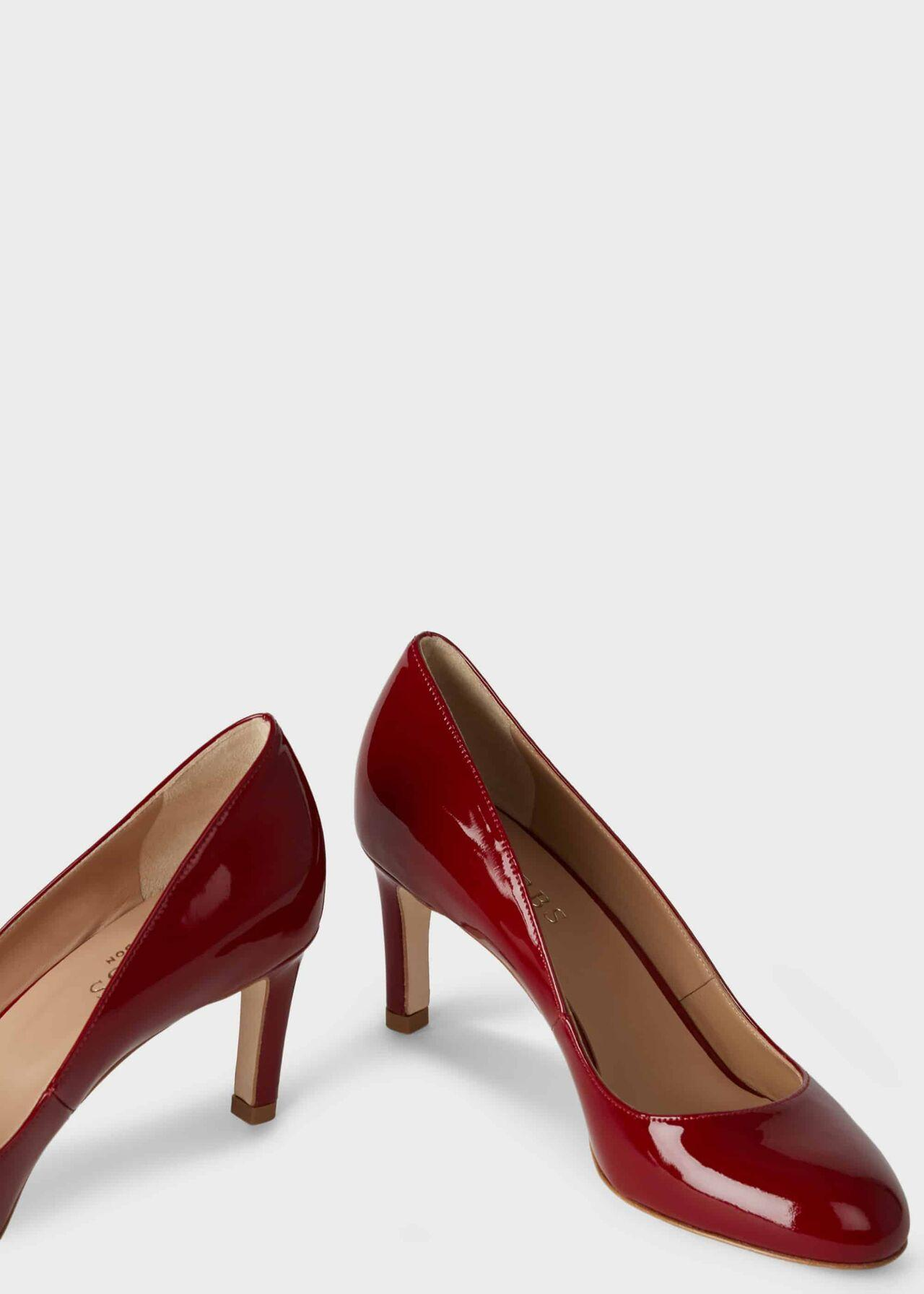 Hobbs Leather Sophia Court in Red - Lyst