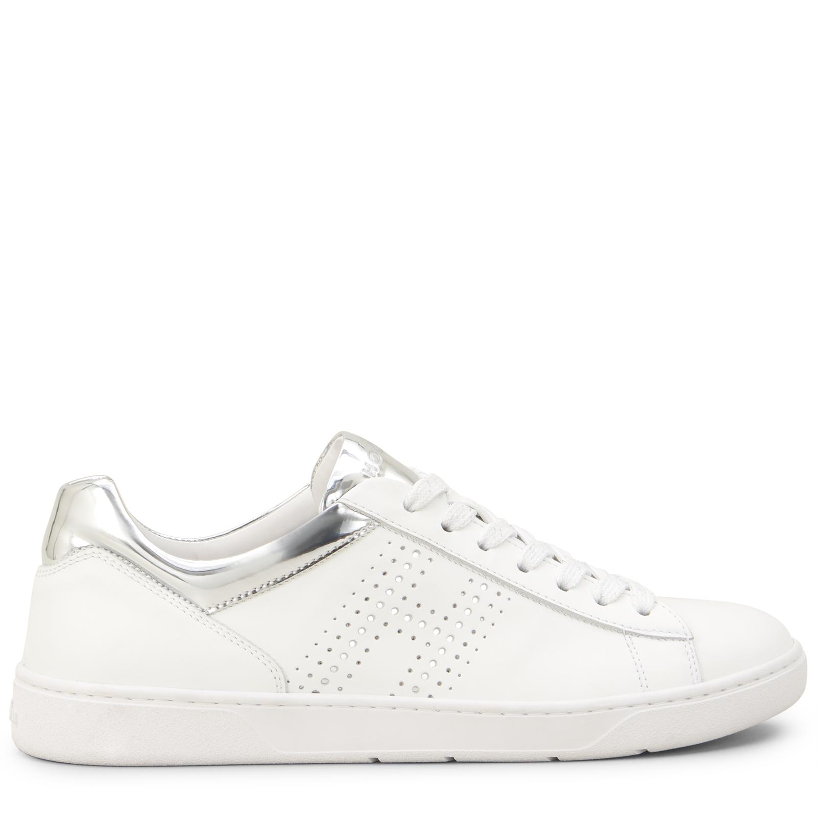 Hogan Leather H327 in Silver,White (White) - Lyst