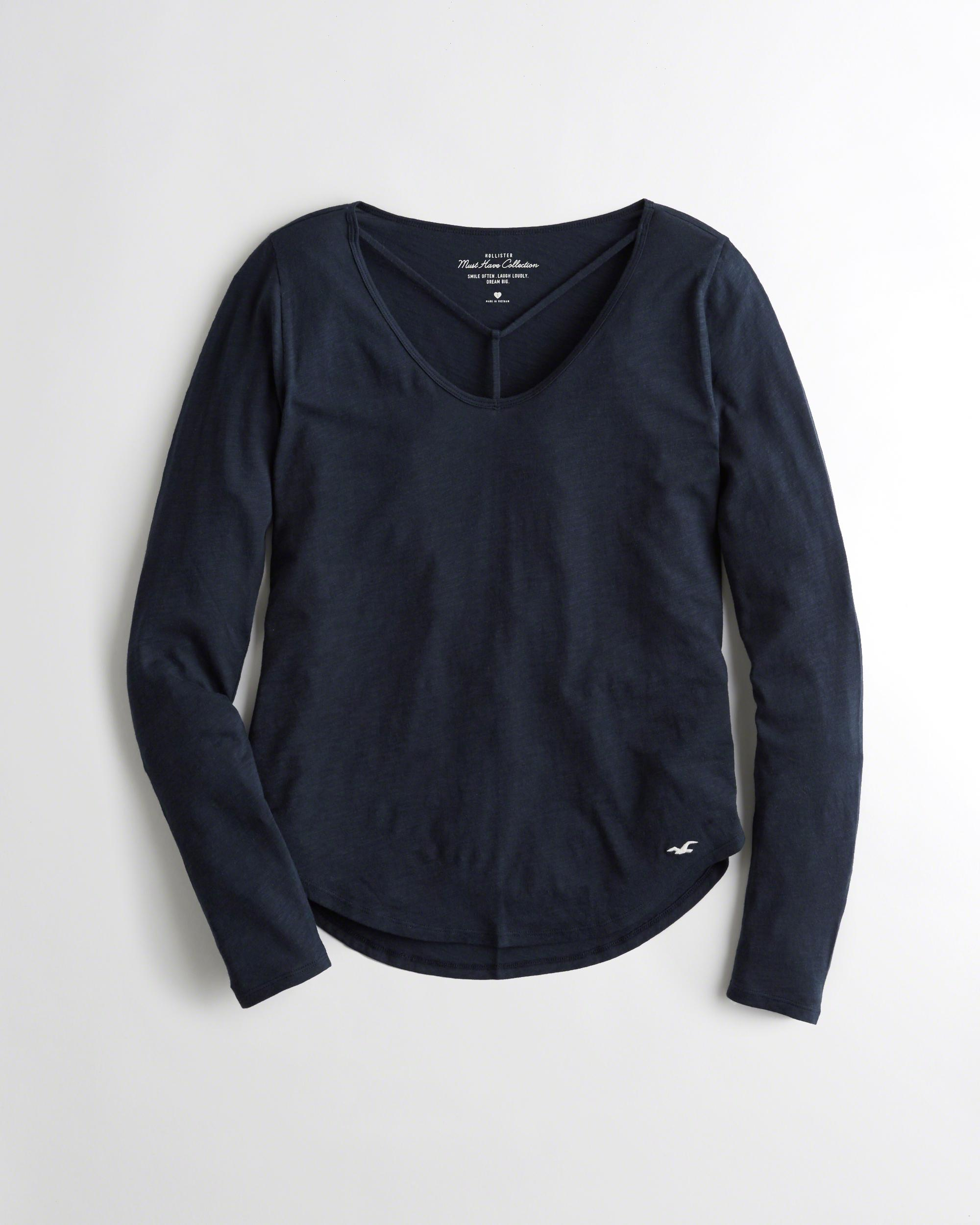 Lyst hollister must have easy t shirt in blue save 52 for Must have dress shirts