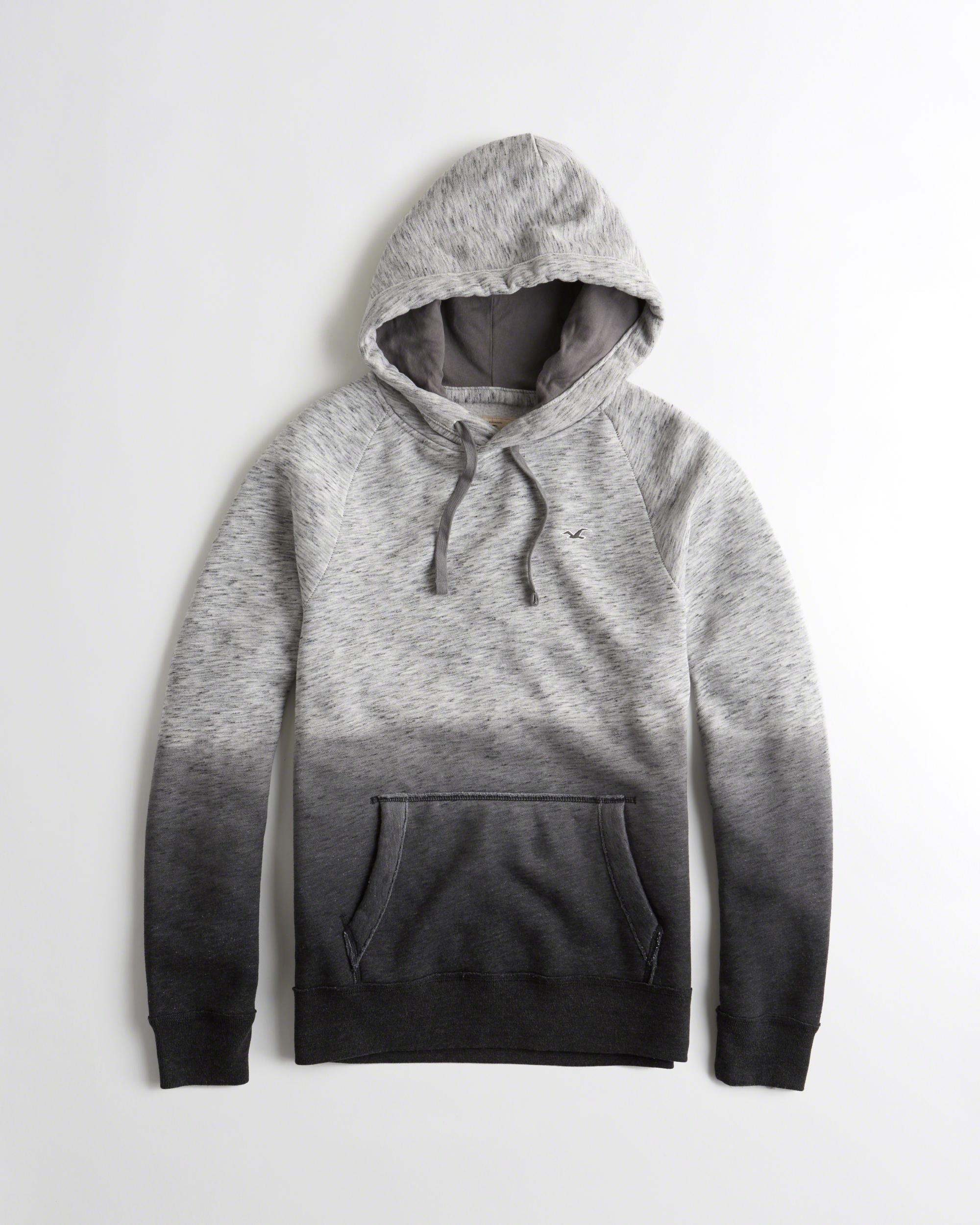 Hollister Sweaters Hollister Hoodies Hollister Shirts Hollister Jacket Hollister Pants Hollister Jeans: Hollister Feel Good Fleece Hoodie In Grey For Men