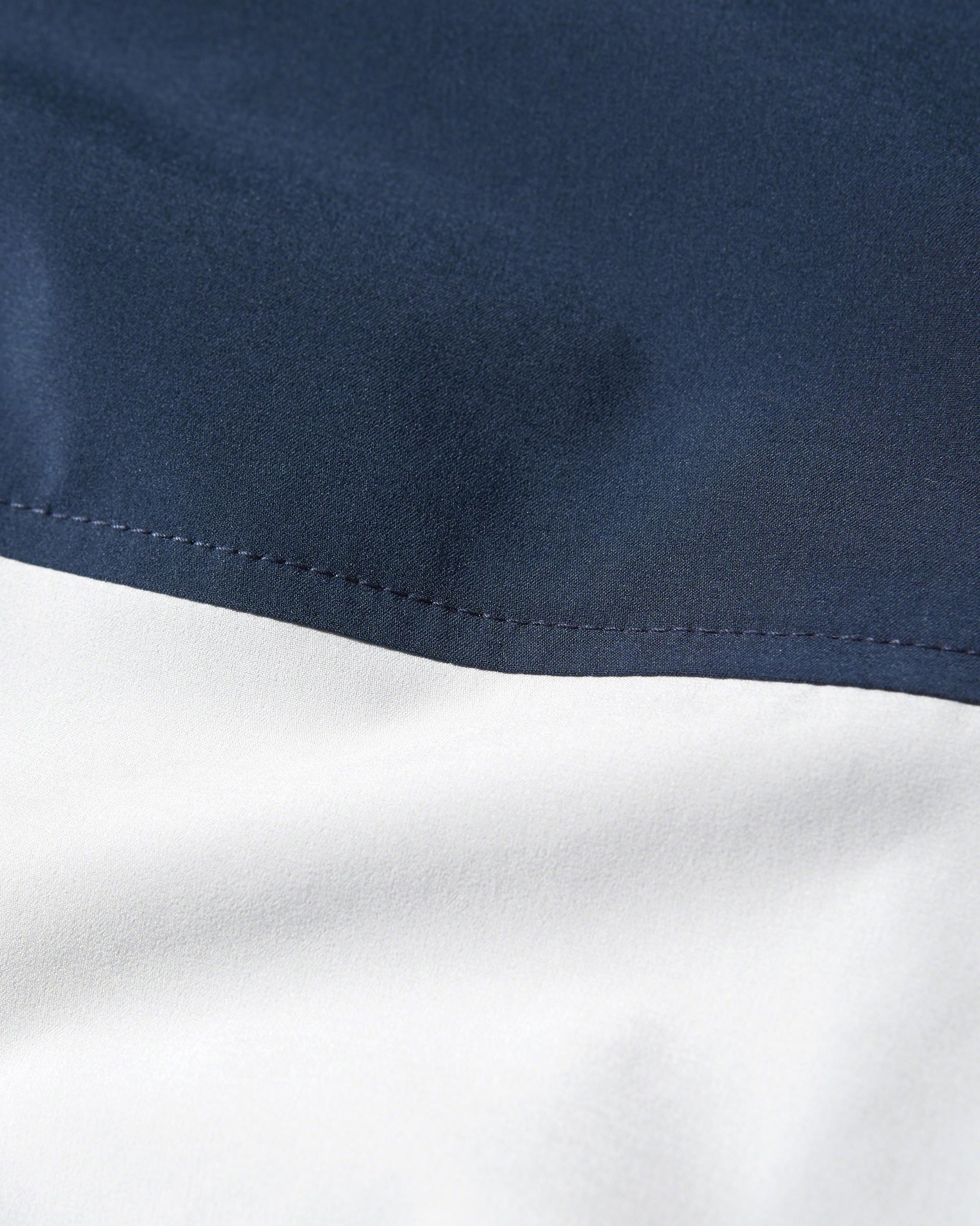 Hollister Synthetic Colorblock Nylon Windbreaker in Navy (Blue) for Men