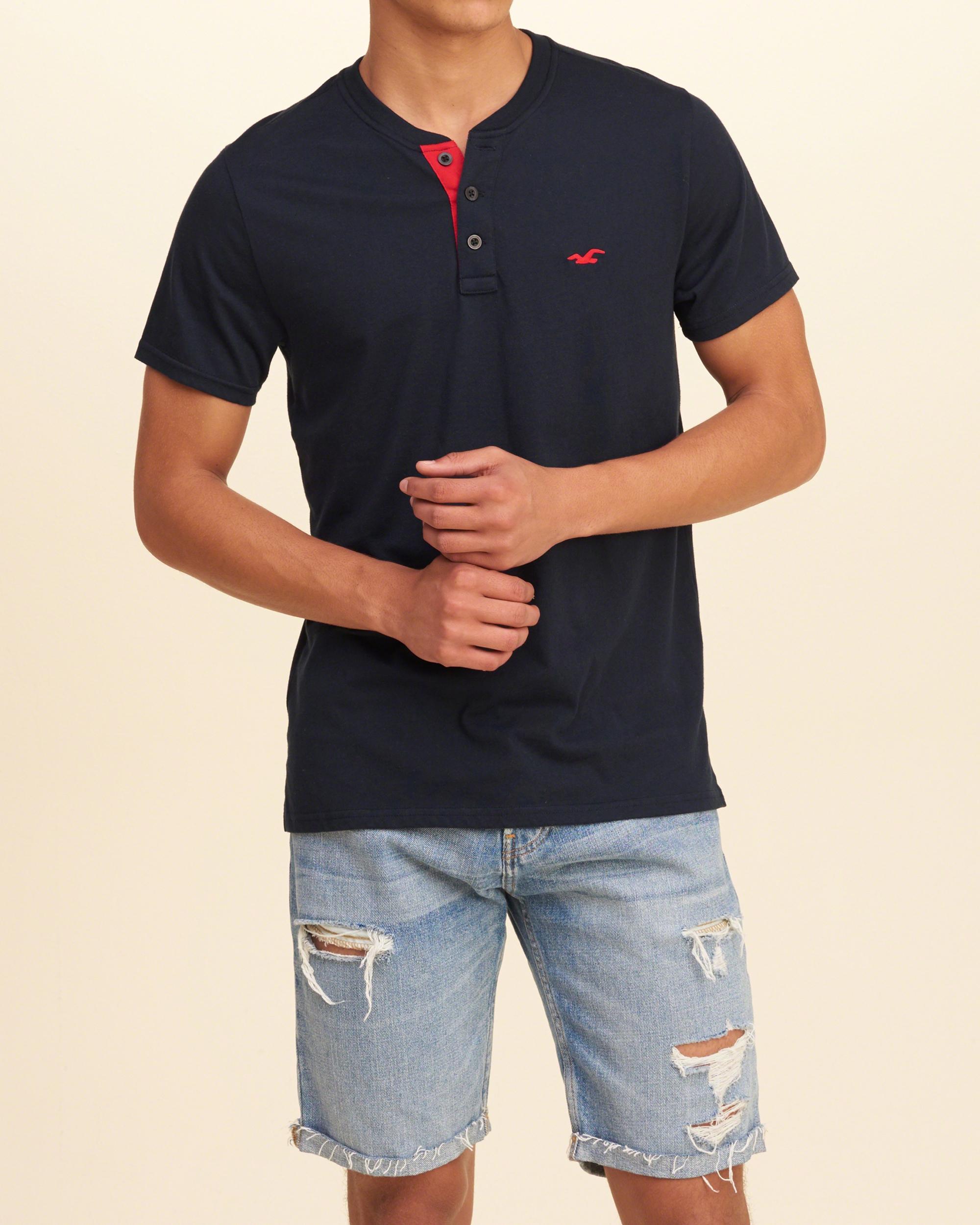 Black t shirts hollister - Gallery