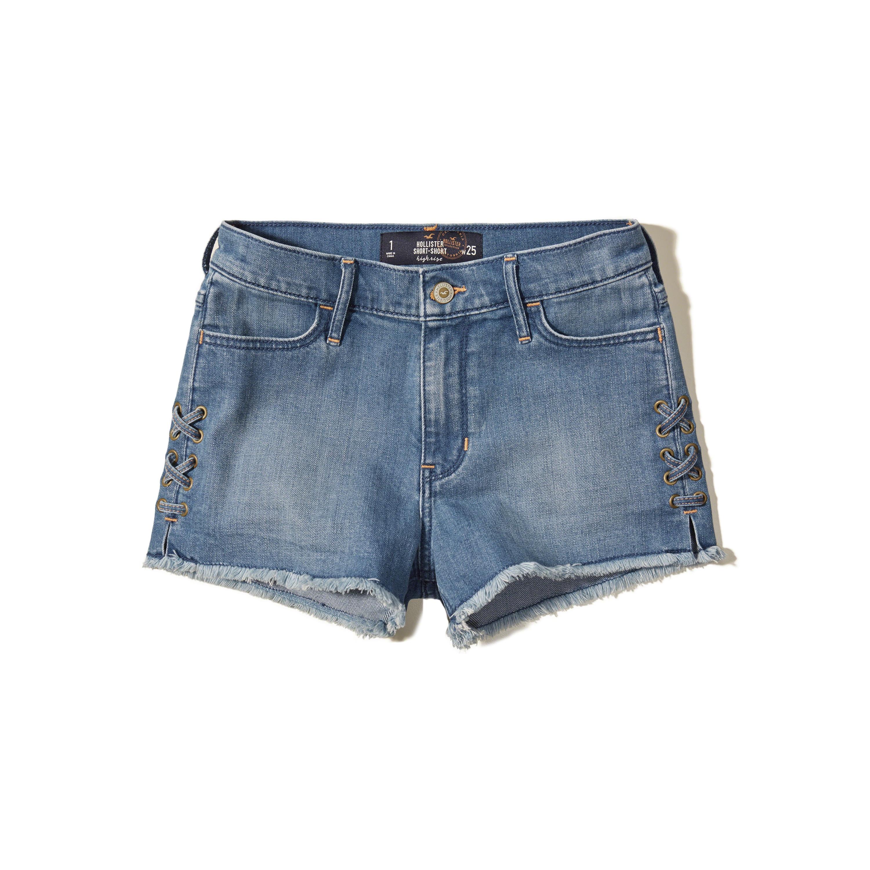 hollister jean shorts - photo #12