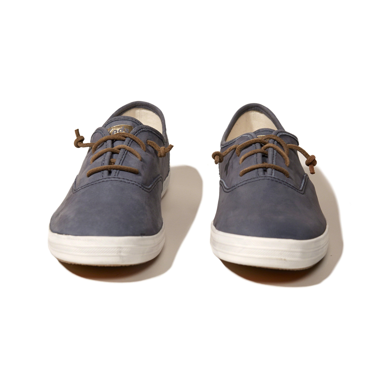 Hollister Keds Champion Original Leather Sneaker In Blue