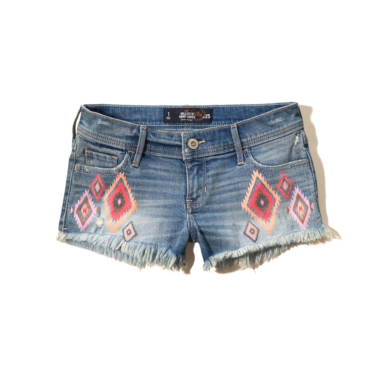 hollister jean shorts - photo #28