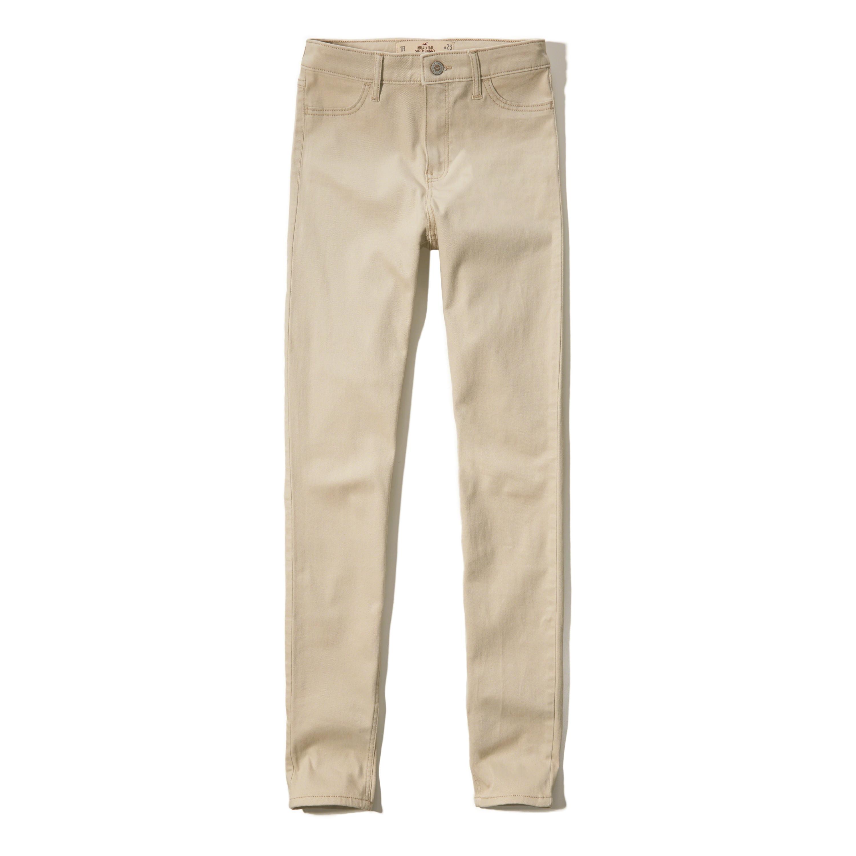 hollister school pants - photo #14