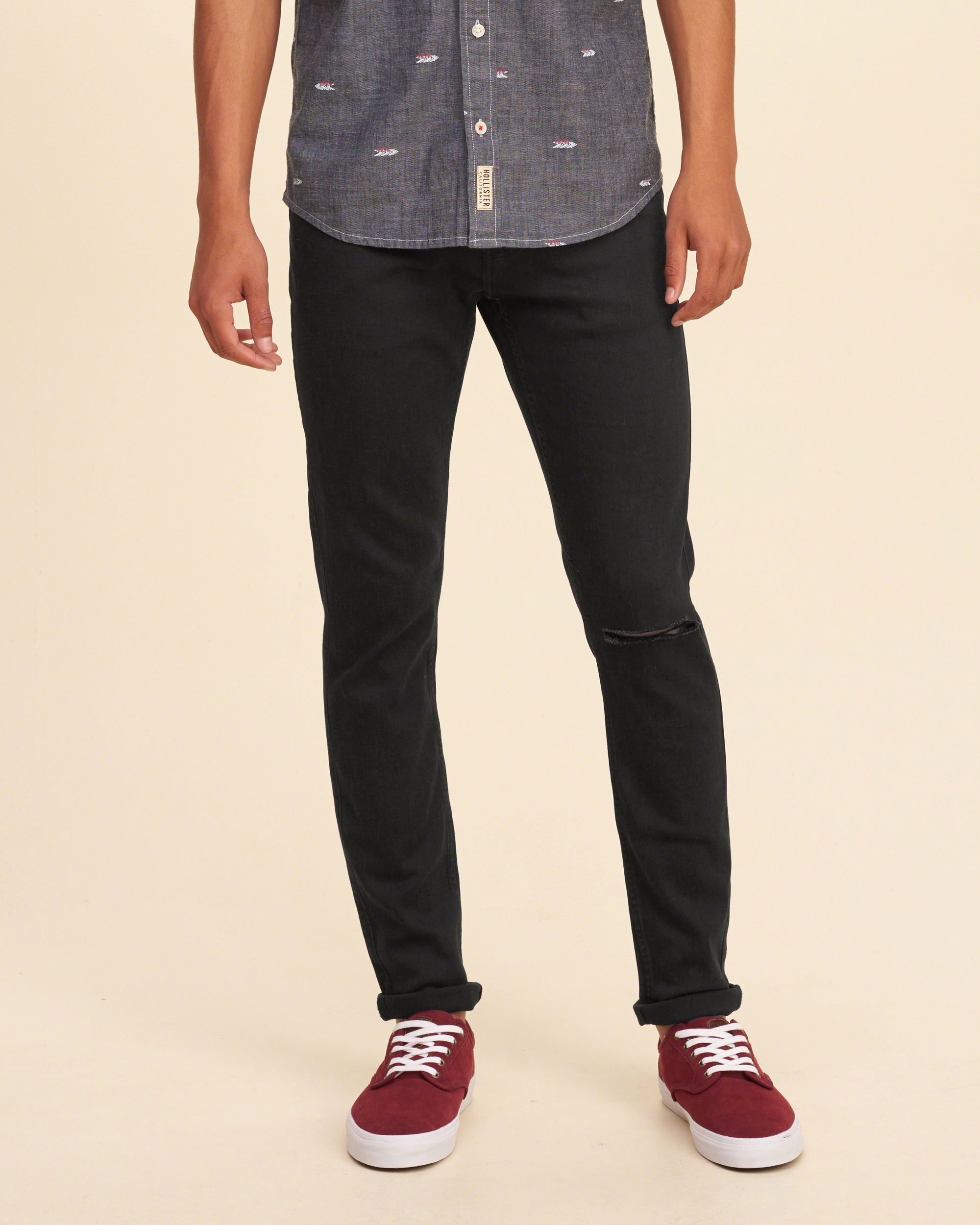 hollister dark jeans for men - photo #20