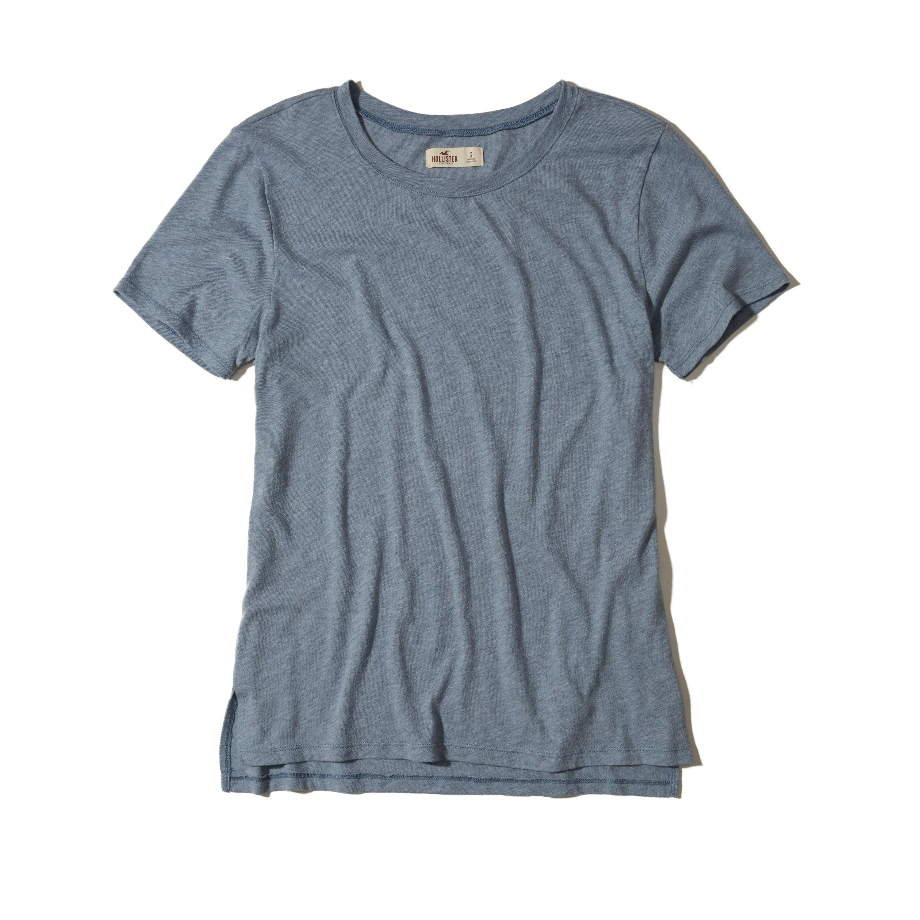 Hollister Oversized T-shirt In Blue