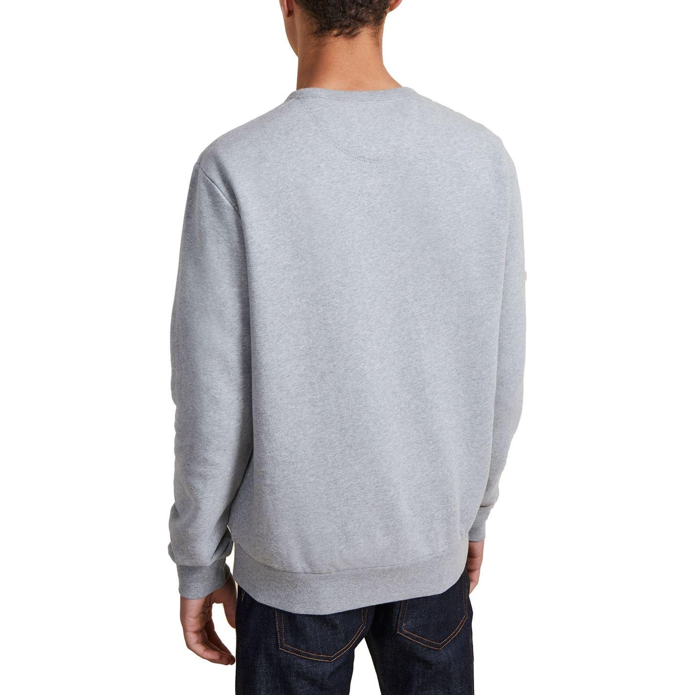 French Connection Cotton Grey Sweat Crew Neck Jumper in Grey for Men