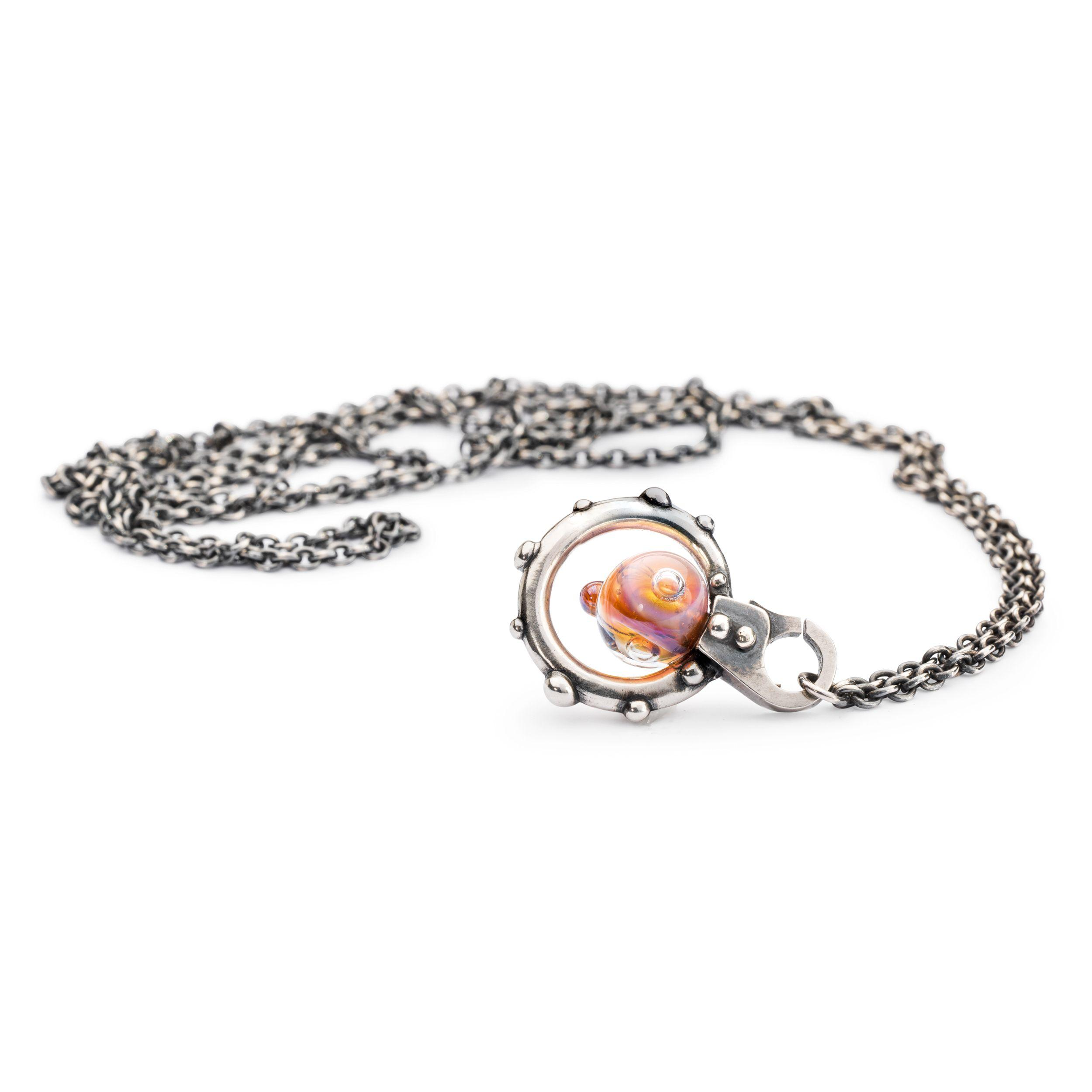 Trollbeads Beautyberries Pendant in Metallic