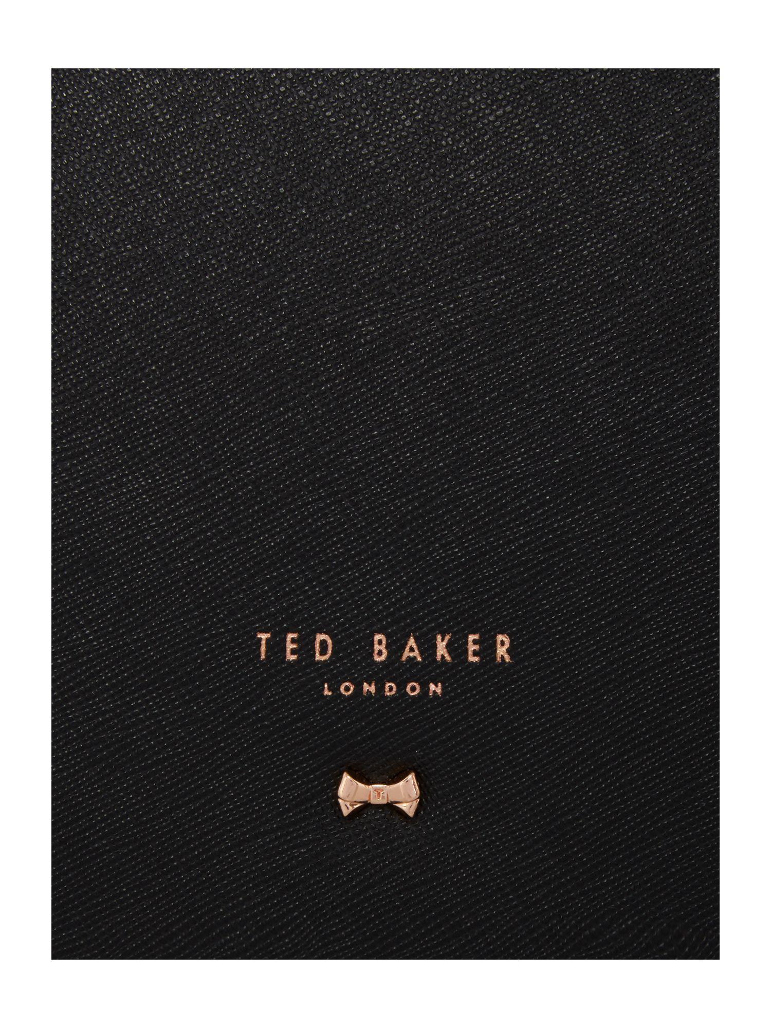Ted Baker Leather Sevina Black Large Tote Bag