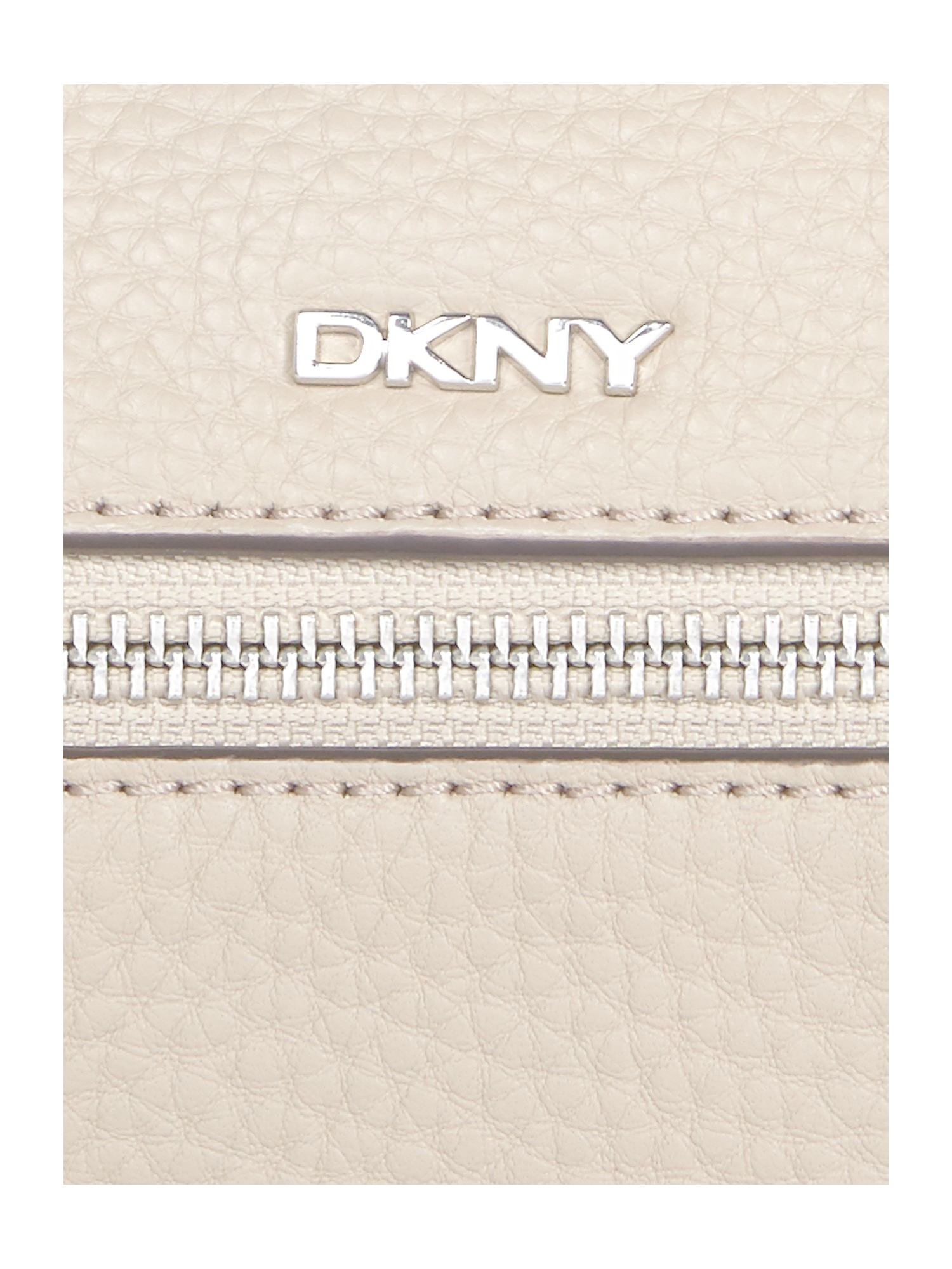 DKNY Leather Tribeca Neutral Crossbody Bag in Natural