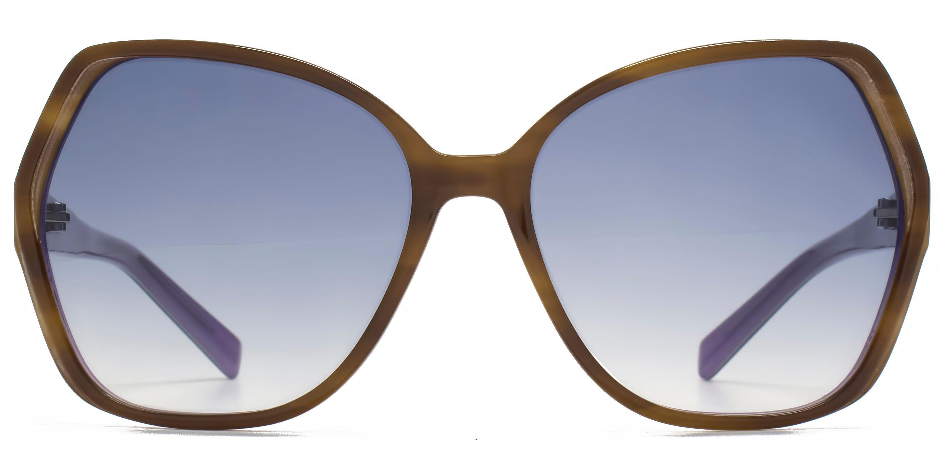 French Connection 26fca036 Horn Purple Glam Sunglasses in Blue