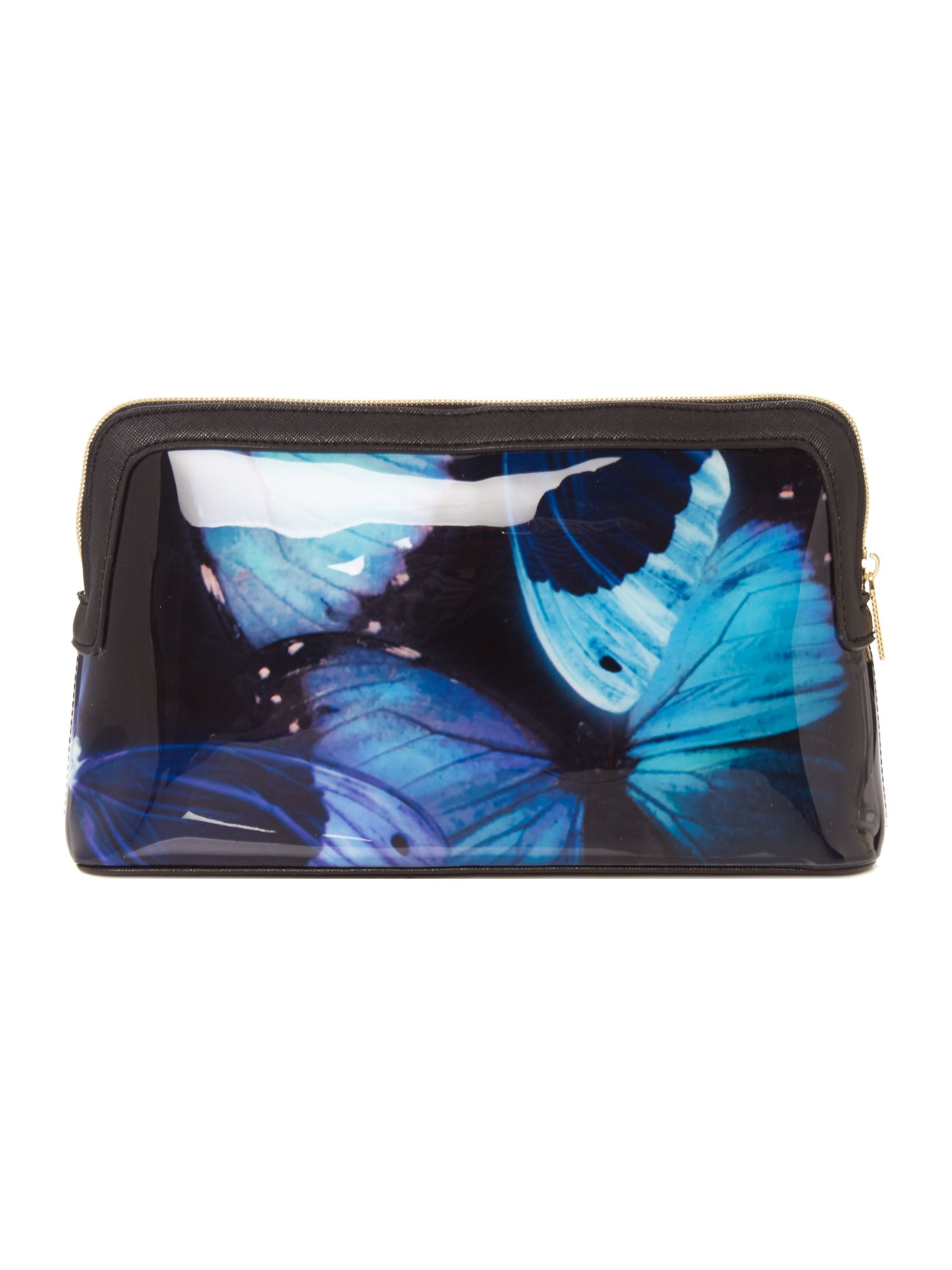 37acf980ddbb0 Lyst - Ted baker Cenlore Multicolour Large Makeup Bag in Blue