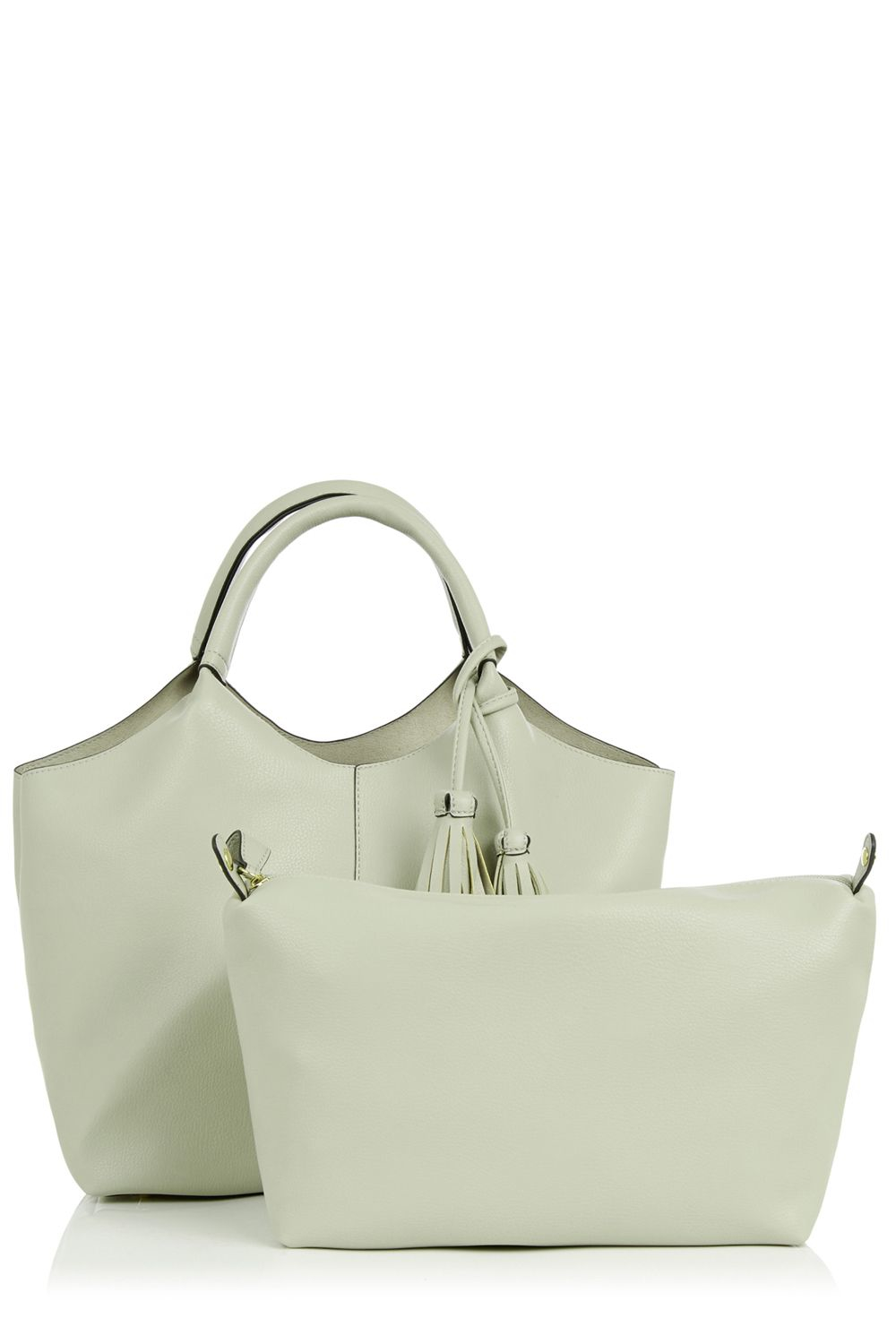 Oasis Maggie Tote in Grey (Green)