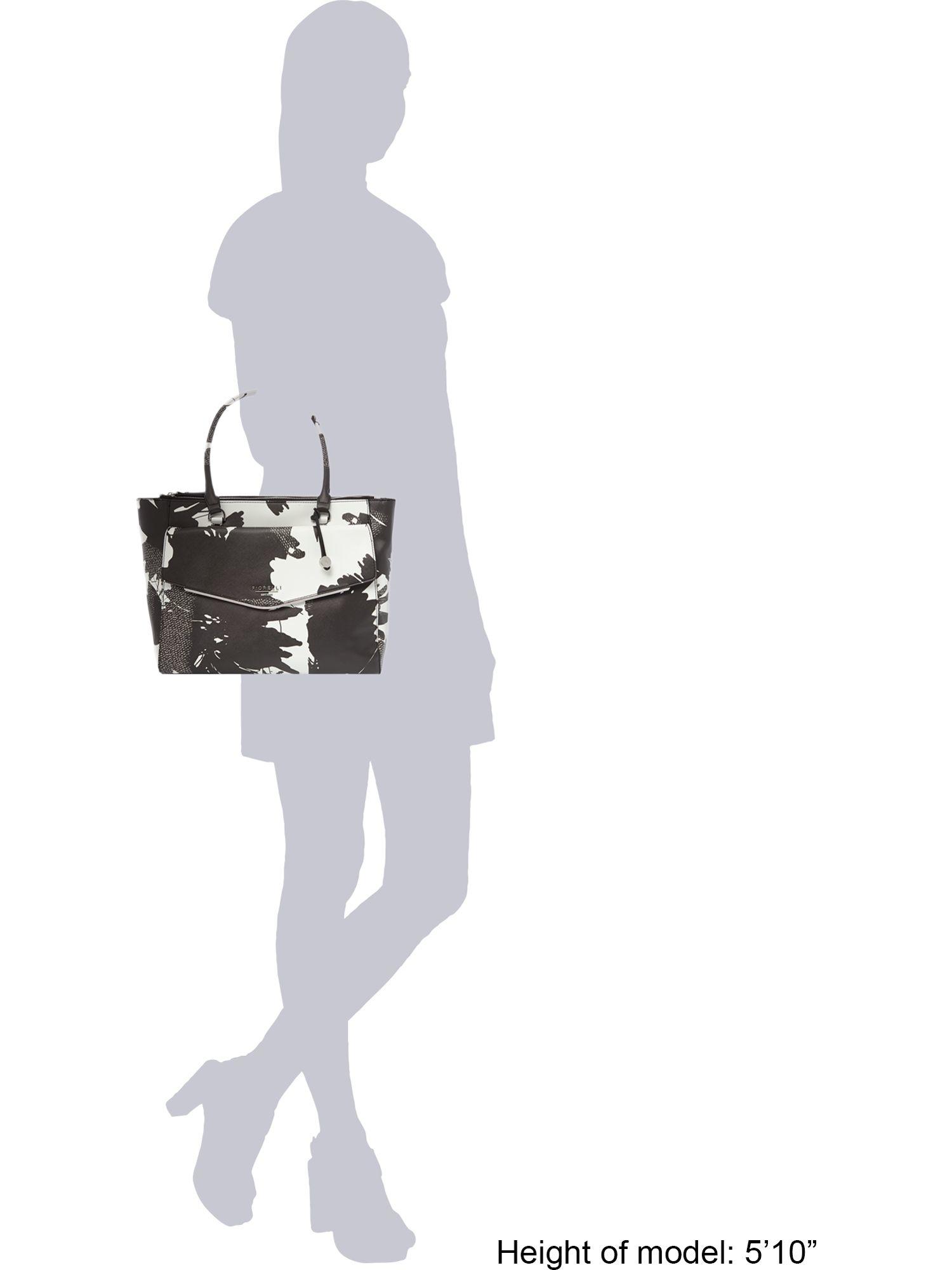 Fiorelli Avery Multi-coloured Tote Bag in Black