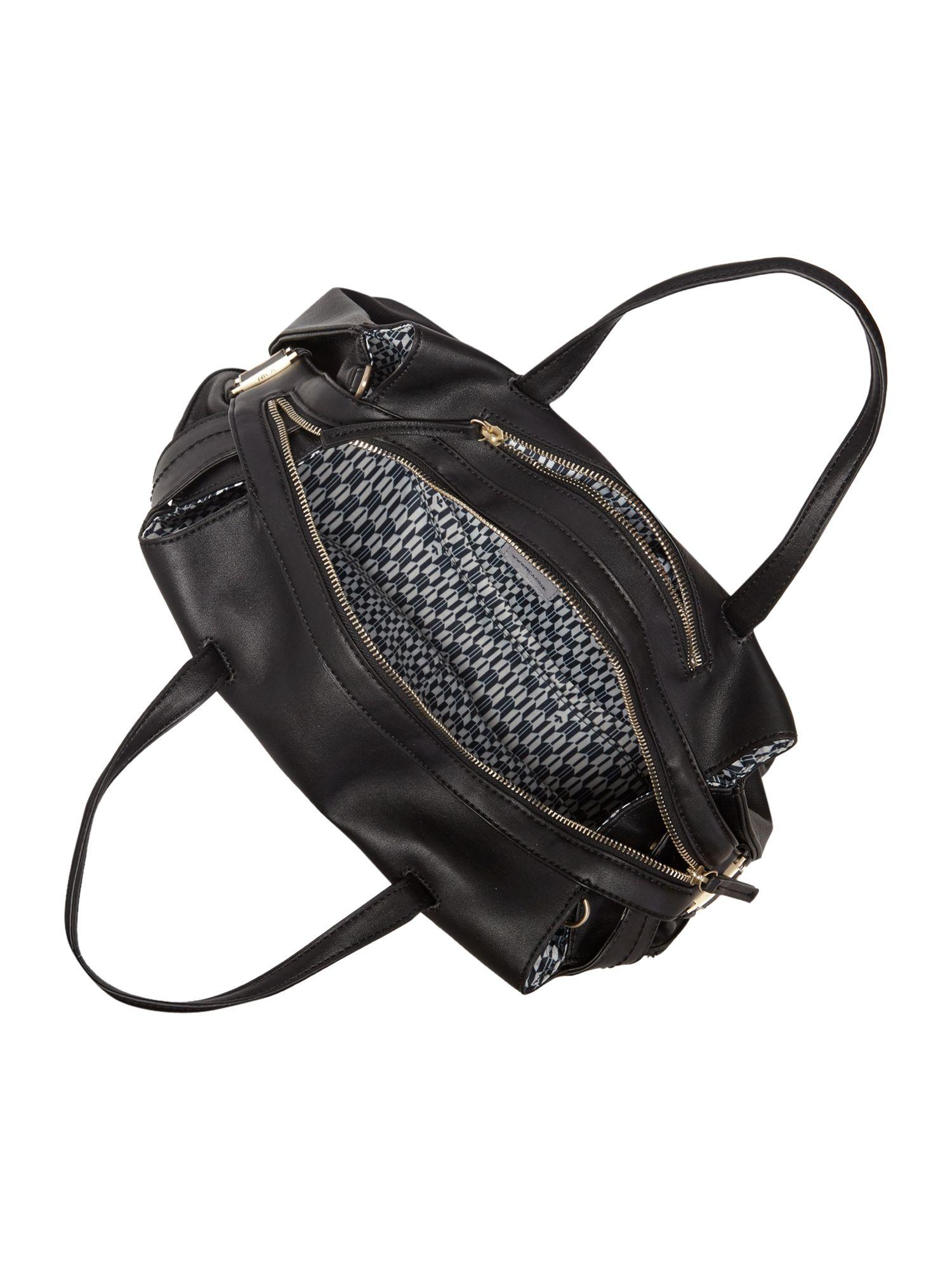 Nica Fia Black Tote Bag