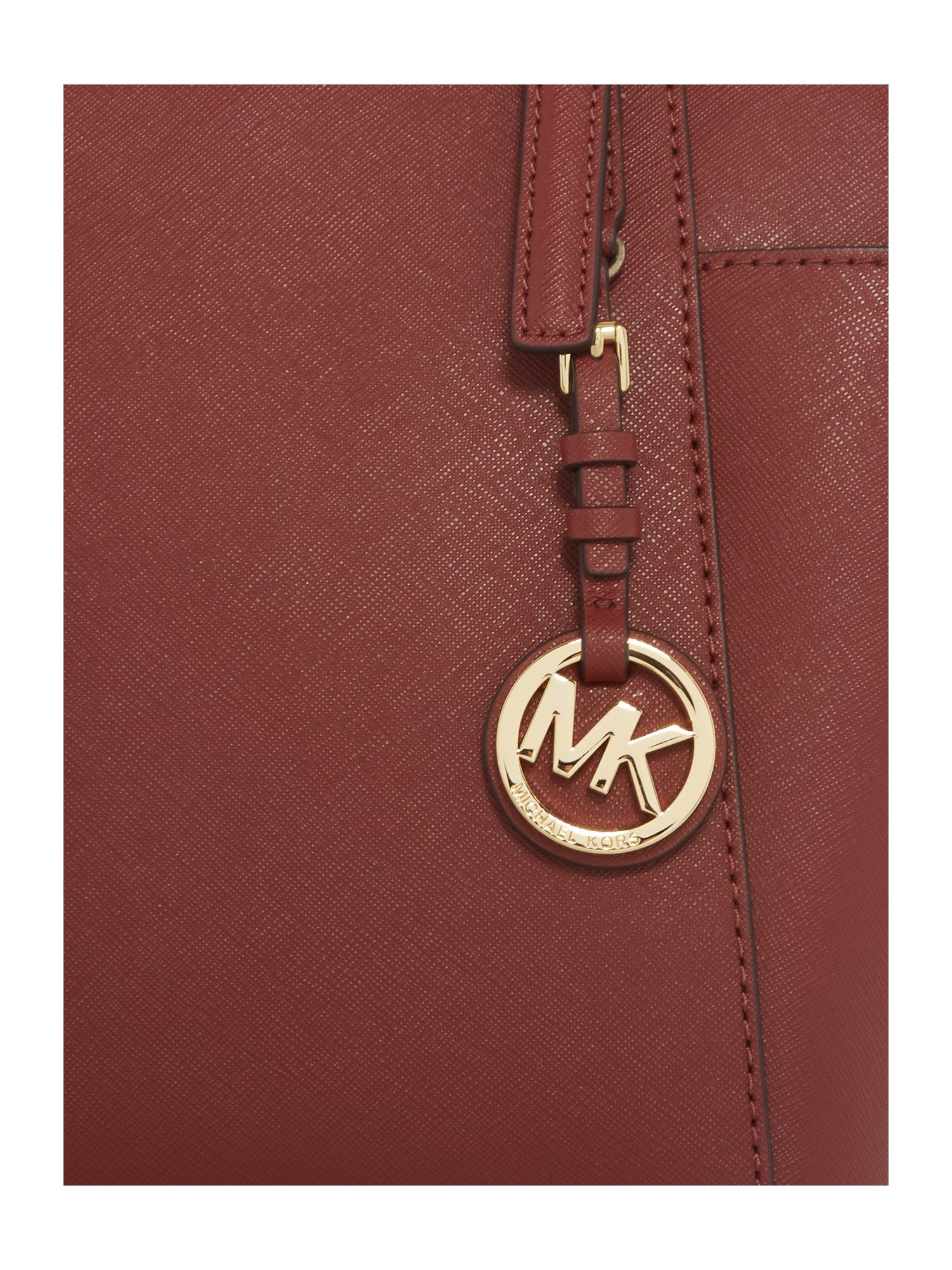 Michael Kors Jetset Item Red Tote Bag