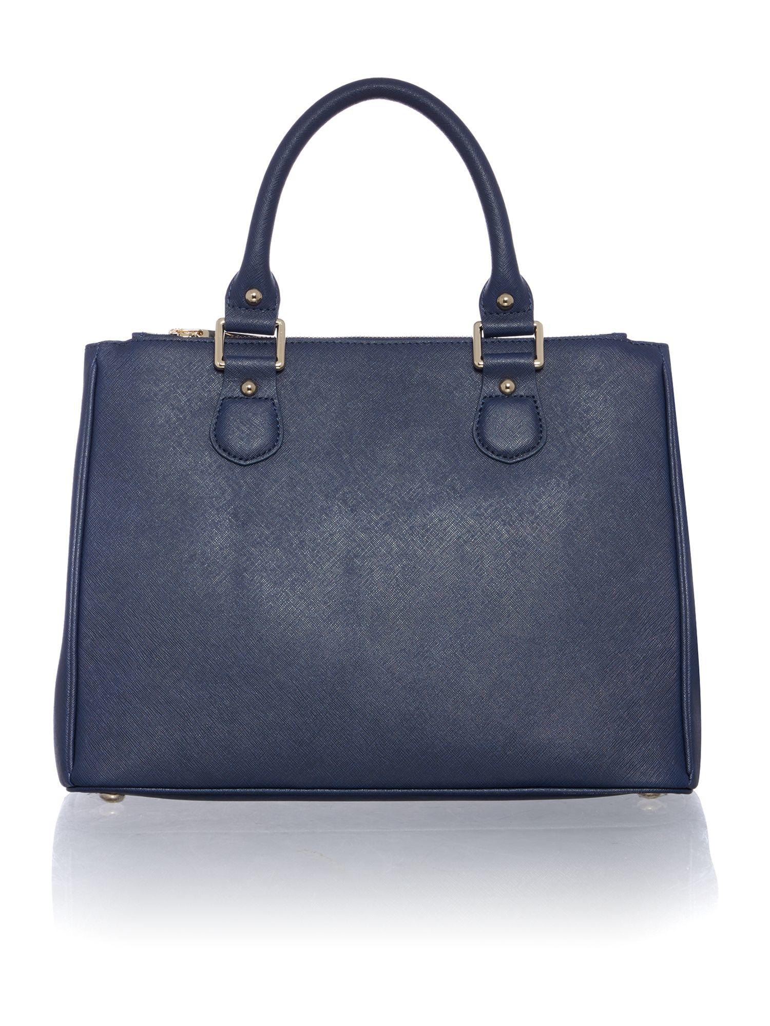 Lamb 1887 Joanna Navy Tote Bag in Blue