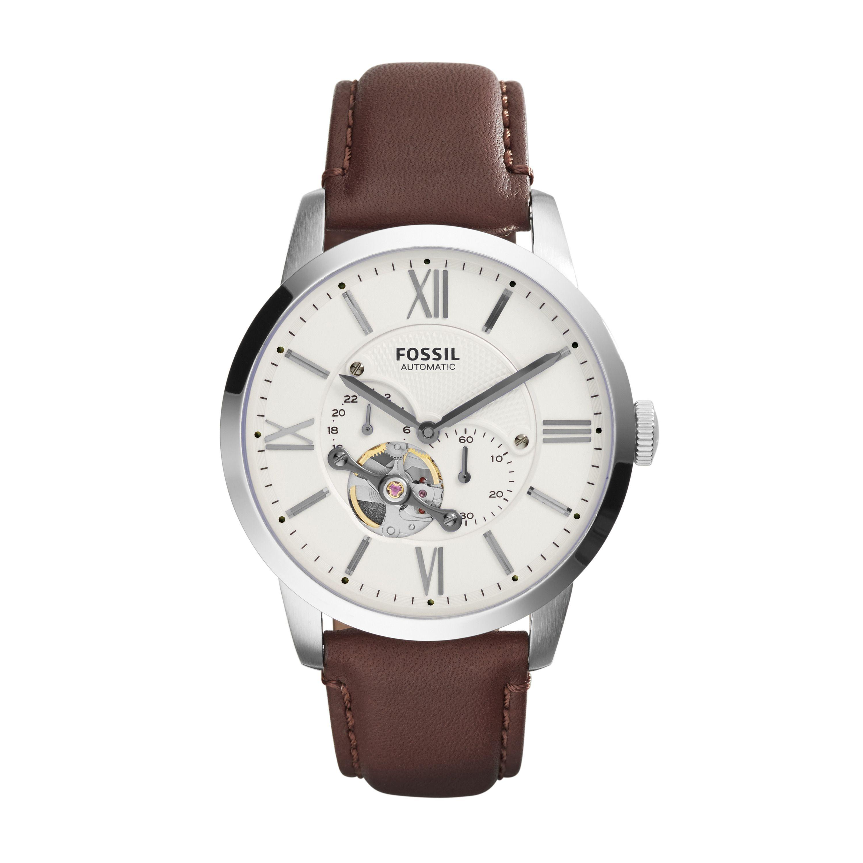 Lyst Fossil Me3064 Mens Strap Watch For Men