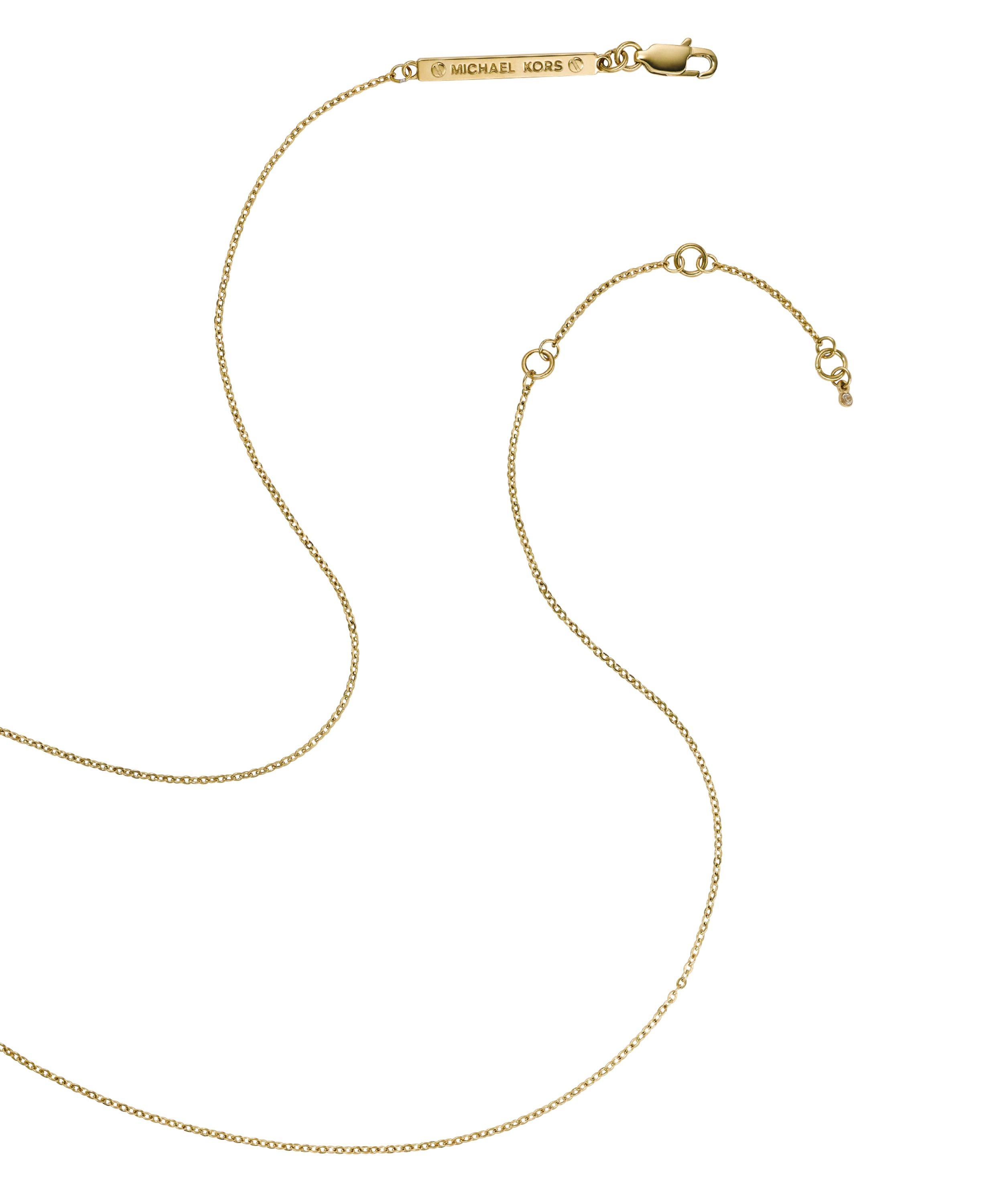 Michael Kors Mkj2654710 Ladies Necklace in Metallic
