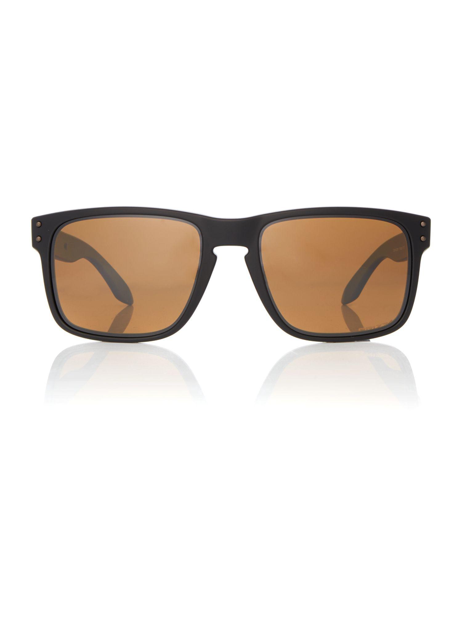 Oakley Black Oo9102 Holbrook Square Sunglasses for Men