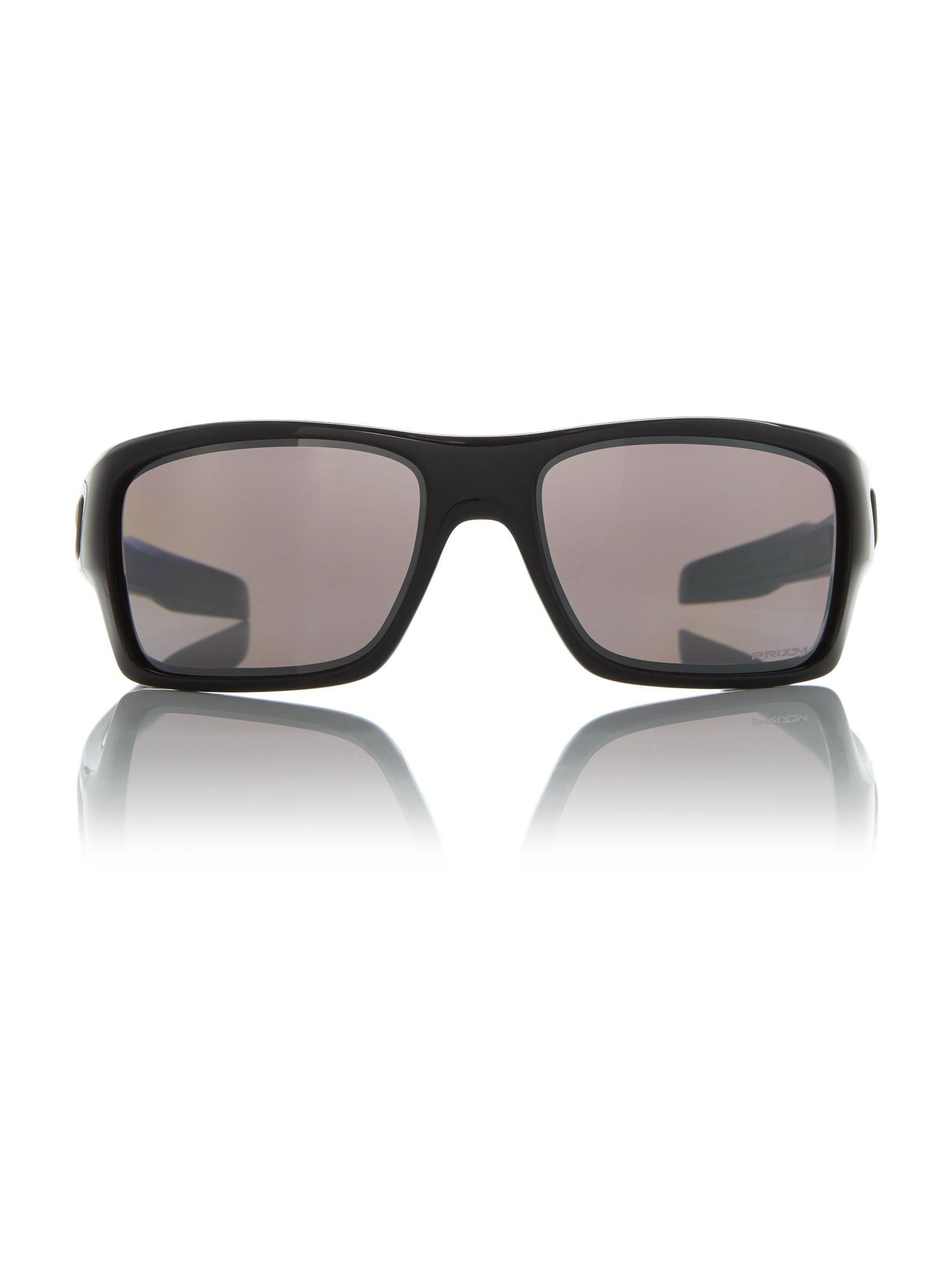Oakley Polished Black Oo9263 Turbine Rectangle Sunglasse for Men