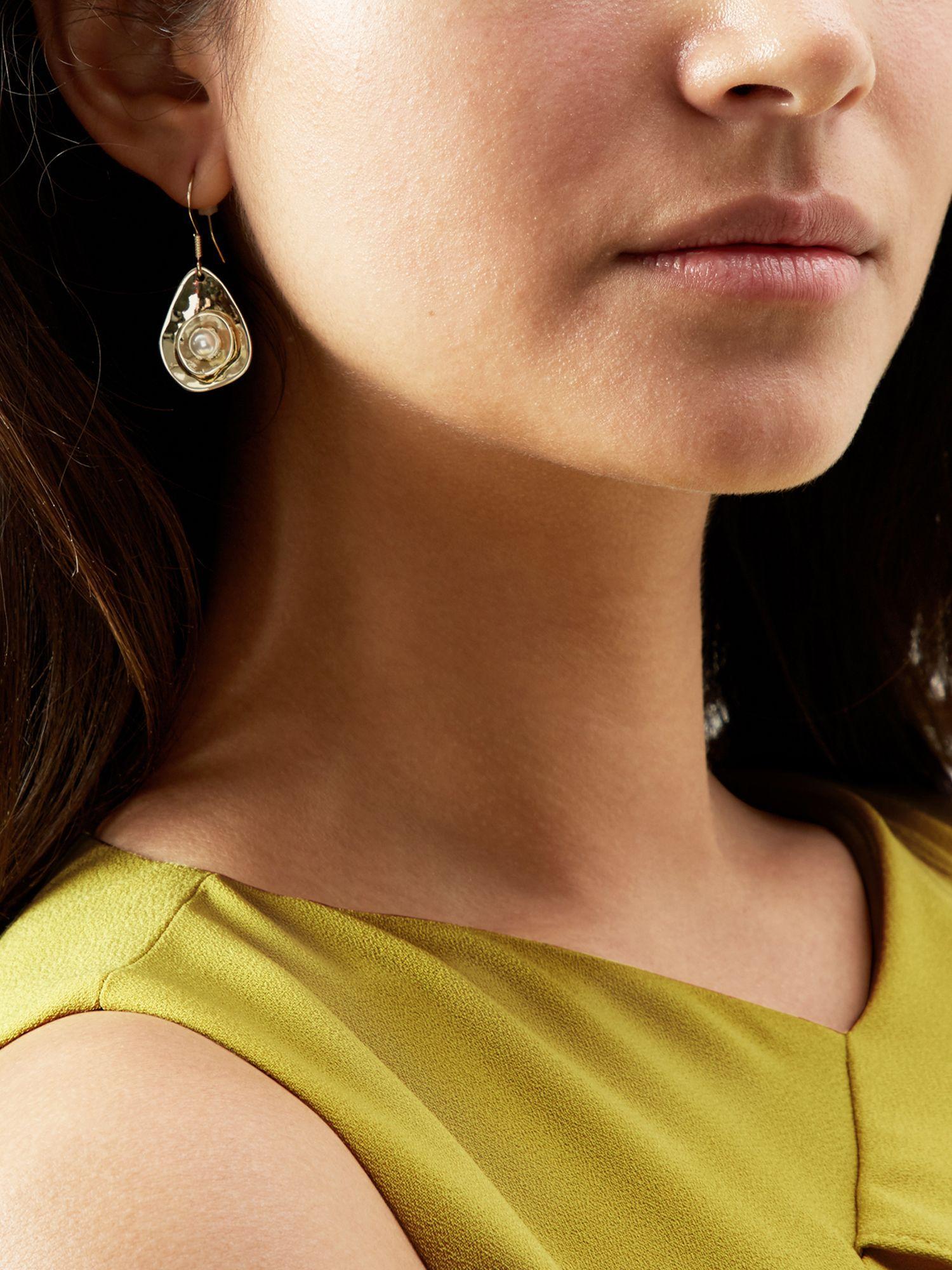 Hobbs Suede Colette Earring