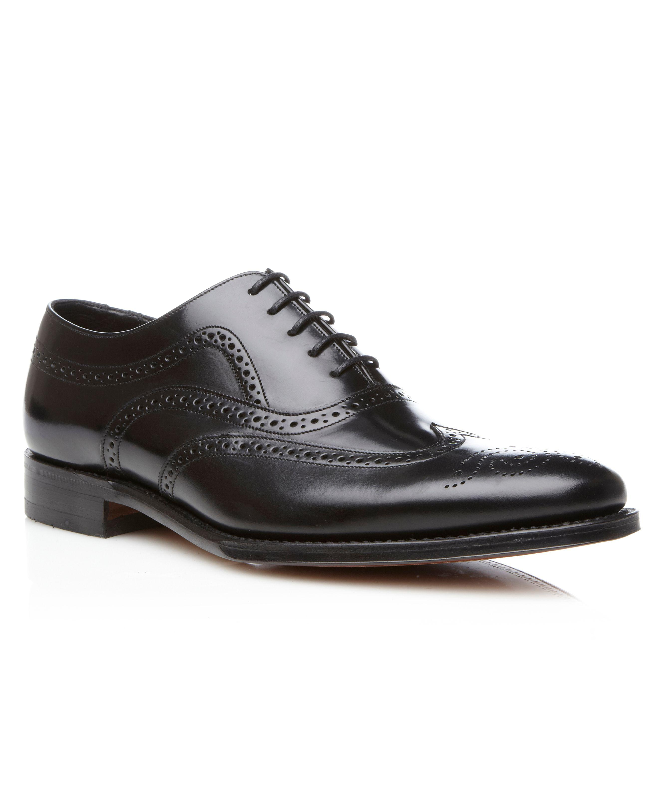 Black leather 'Lowick' brogues cheap Manchester Inexpensive sale online nRcSP5aniR