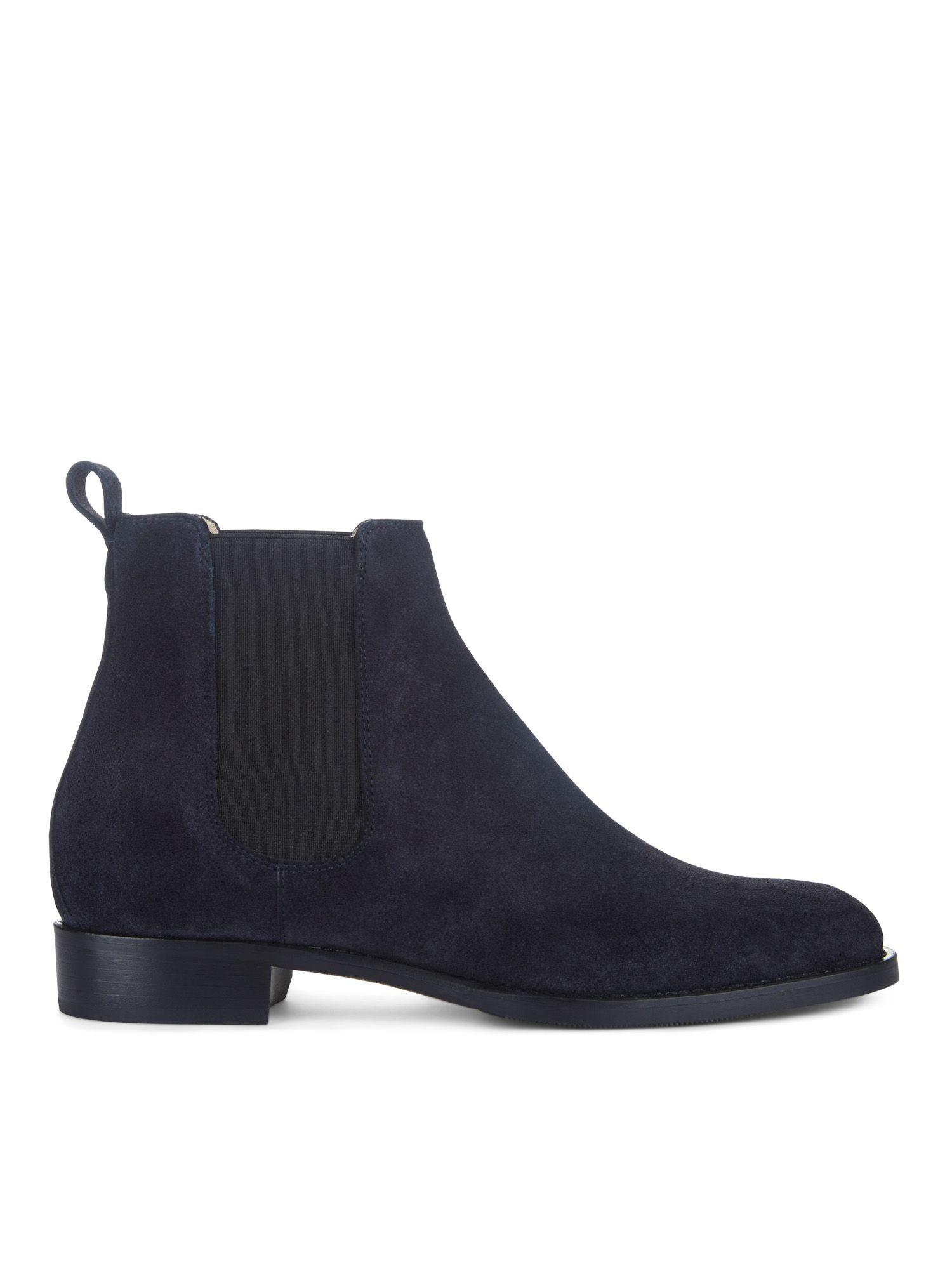 Hobbs Leather Nicole Boot in Blue