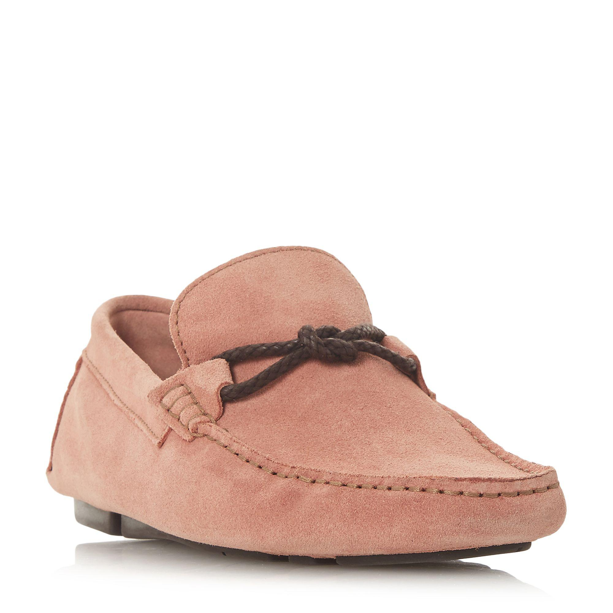 discount with mastercard Navy 'Bandit x' weave knot lace driver loafers eastbay discount shop for cheap sale limited edition e8pyfjDPKU