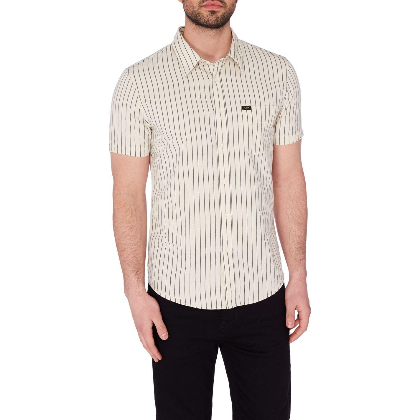Lee Jeans Turtledove Shirt in Cream (Natural) for Men