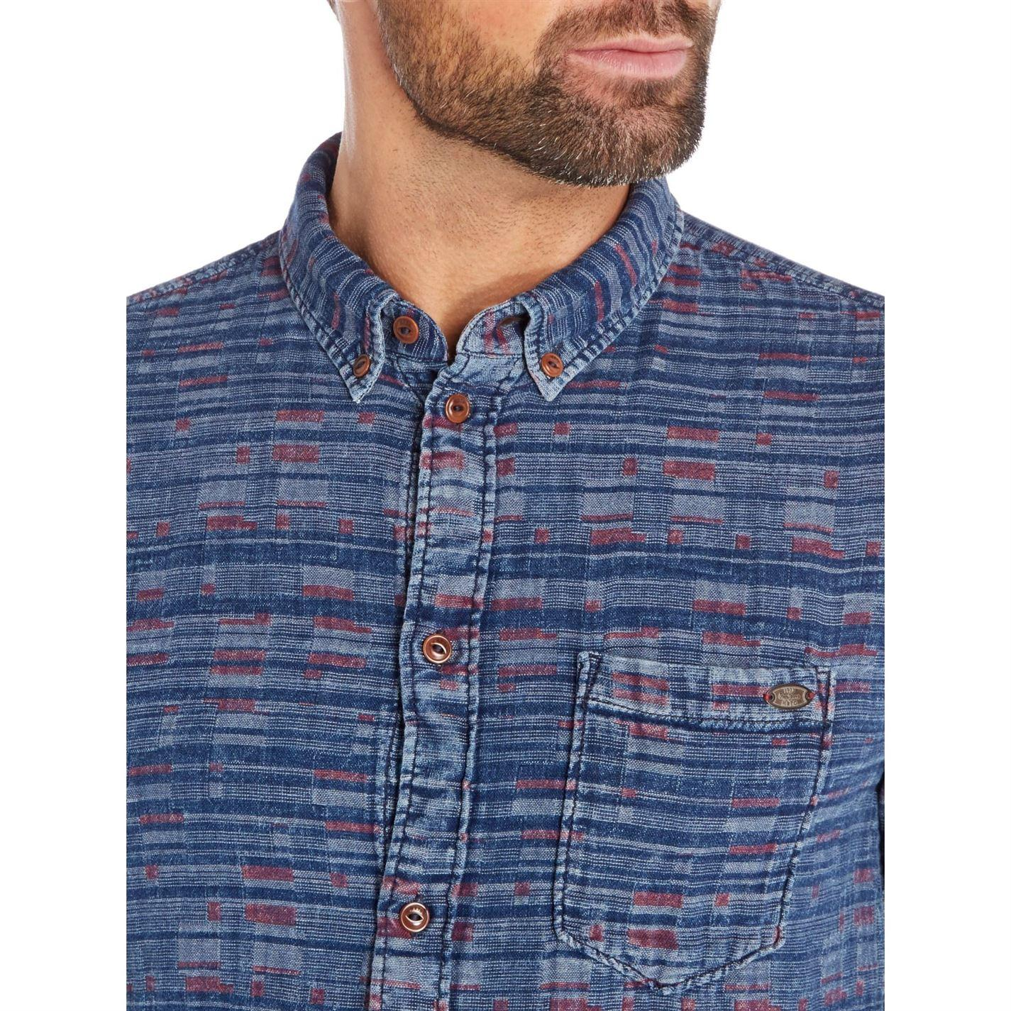 Pepe Jeans Gary Long Sleeve Shirt in Indigo (Blue) for Men
