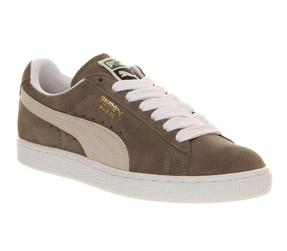 Lyst puma suede classic trainers in gray for Quality classic house of fraser