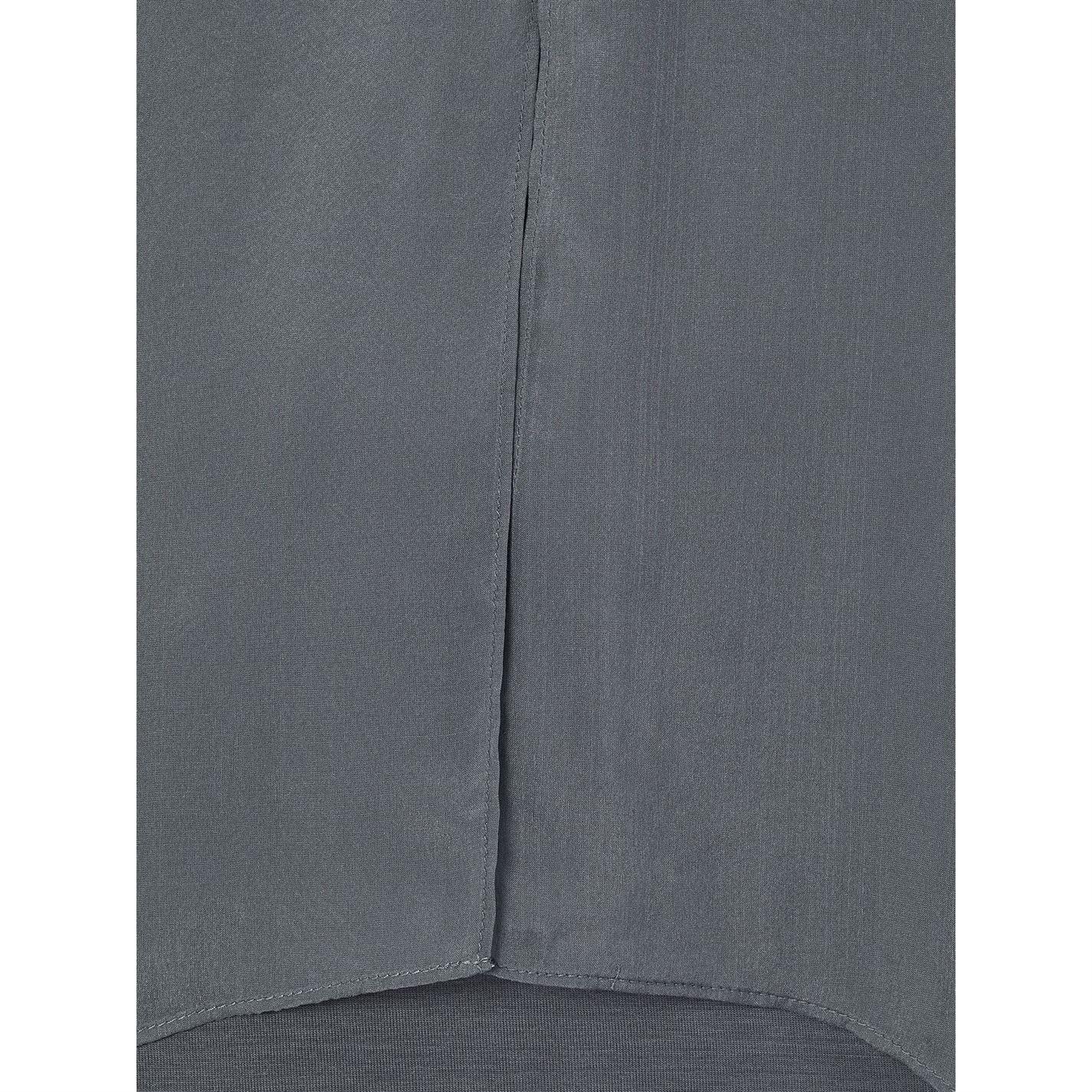 Studio 8 Josie Silk Tunic in Charcoal (Grey)
