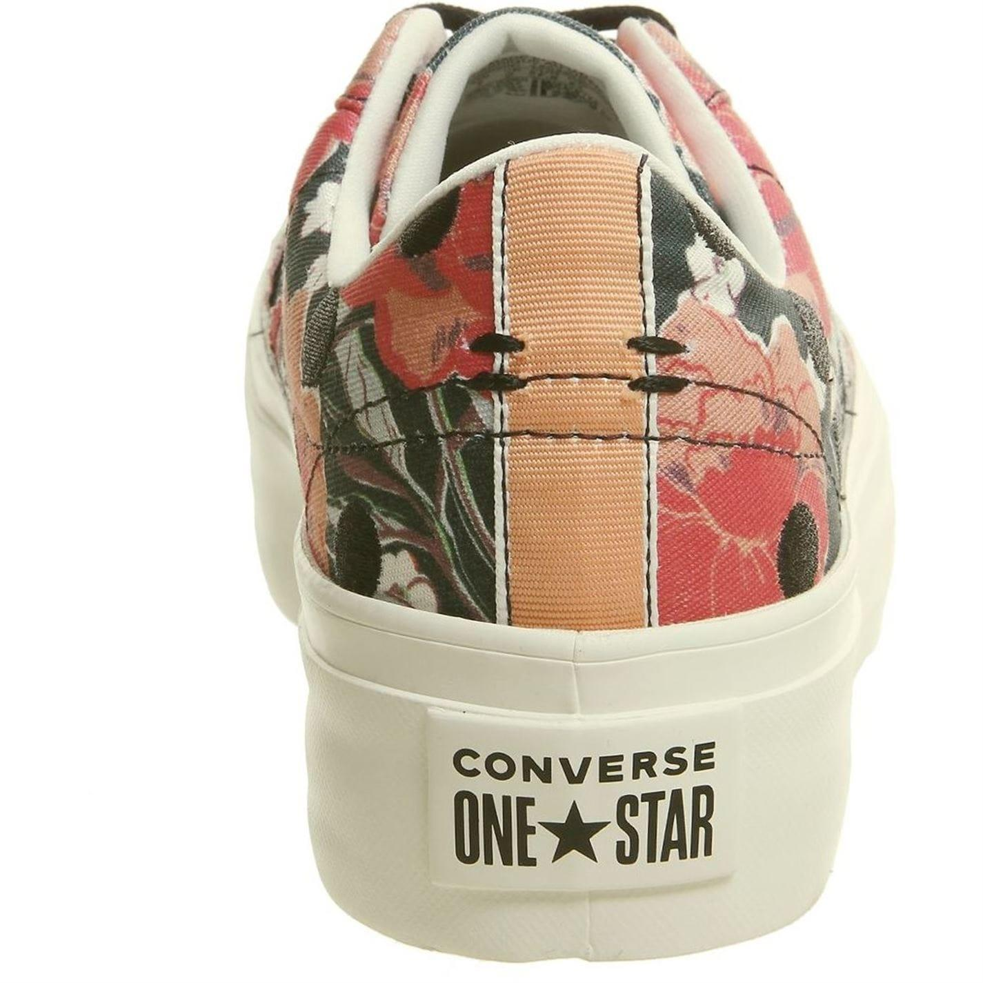 Converse Rubber One Star Trainers in Black